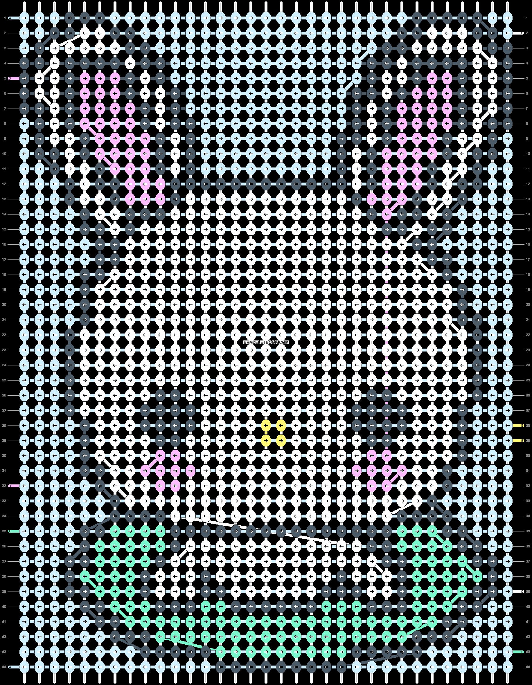 Alpha pattern #4991 pattern