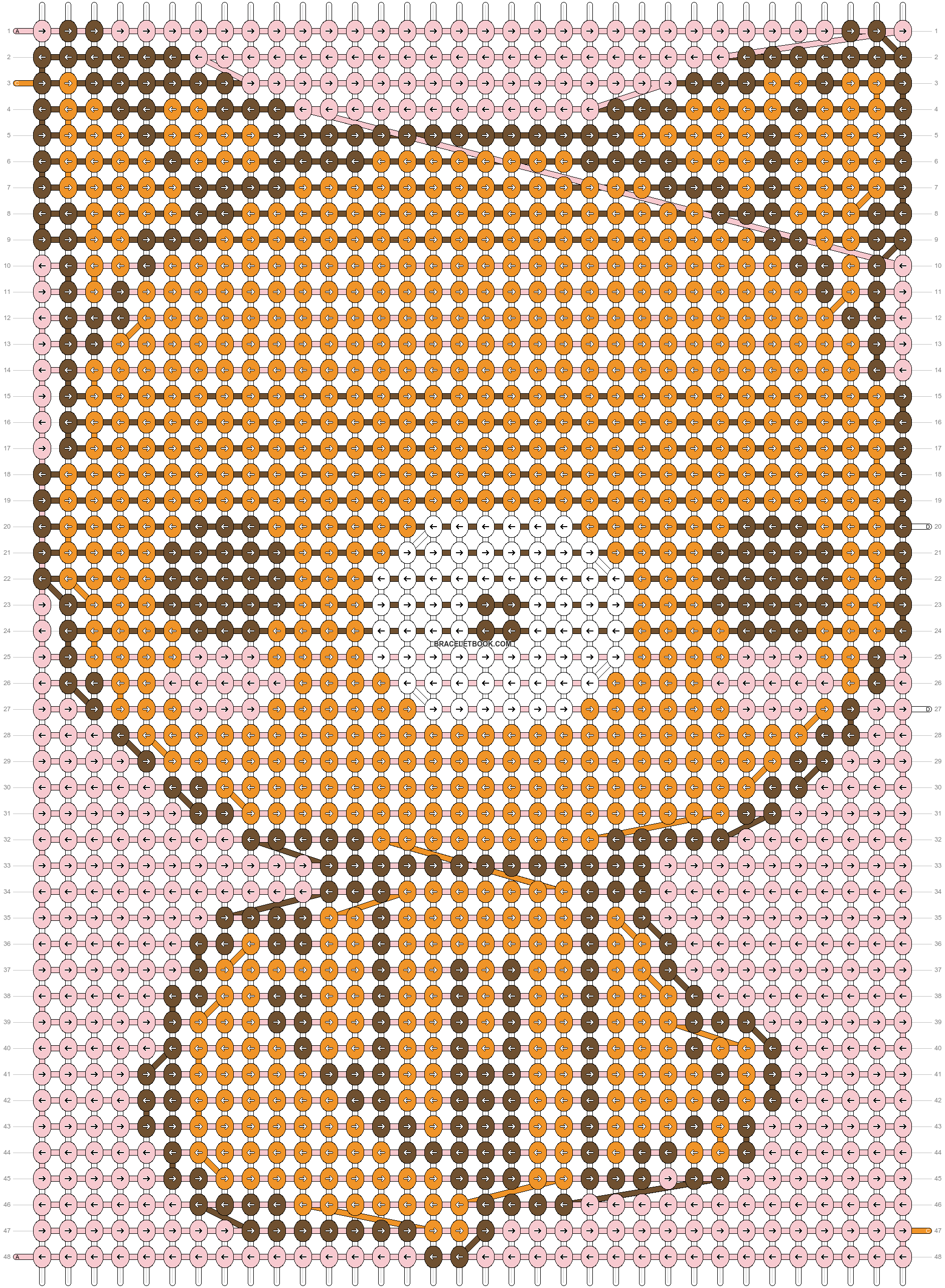 Alpha pattern #4993 pattern
