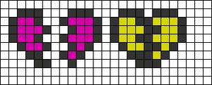 Alpha Friendship Bracelet Pattern #5011