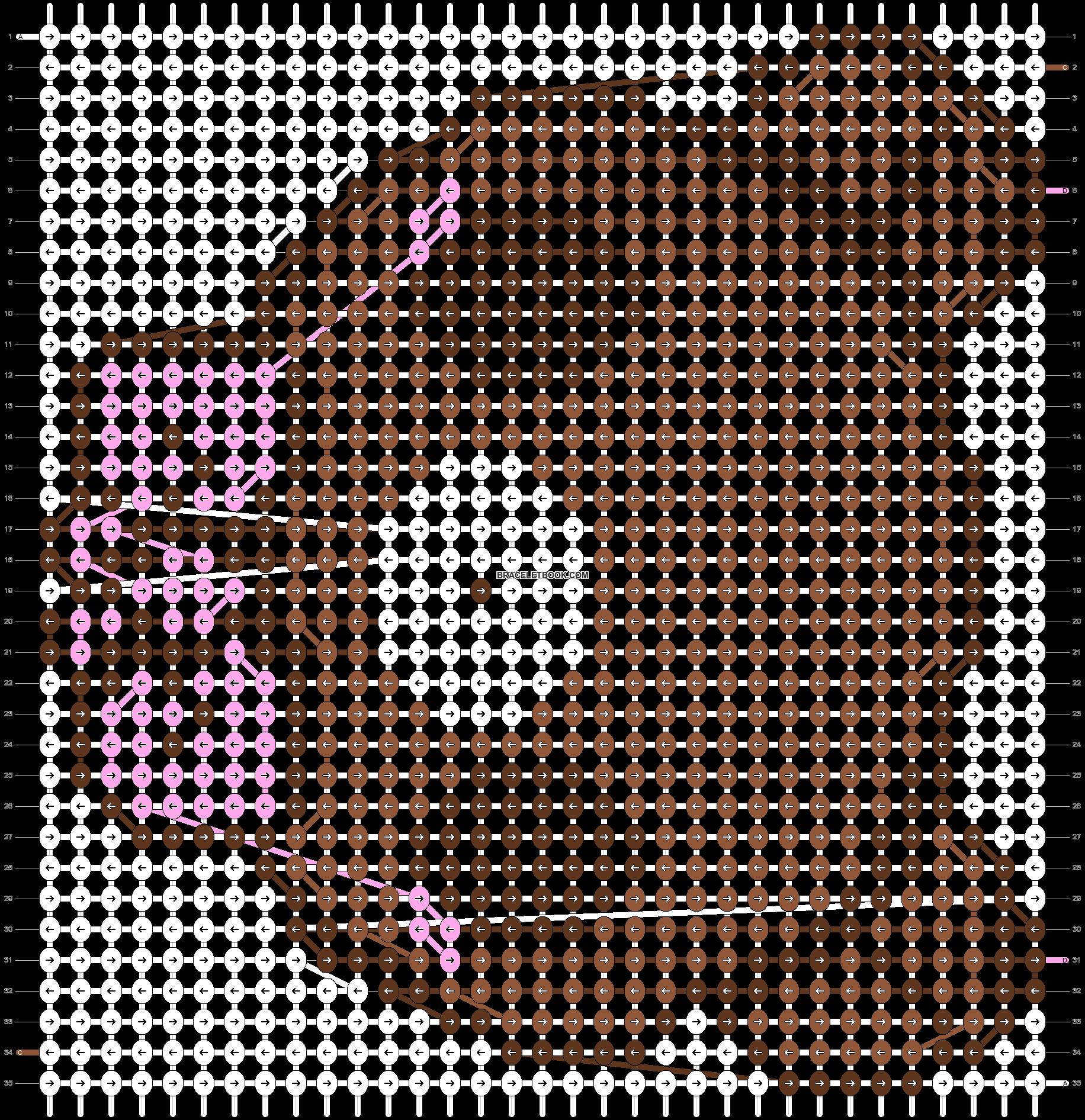 Alpha pattern #5027 pattern