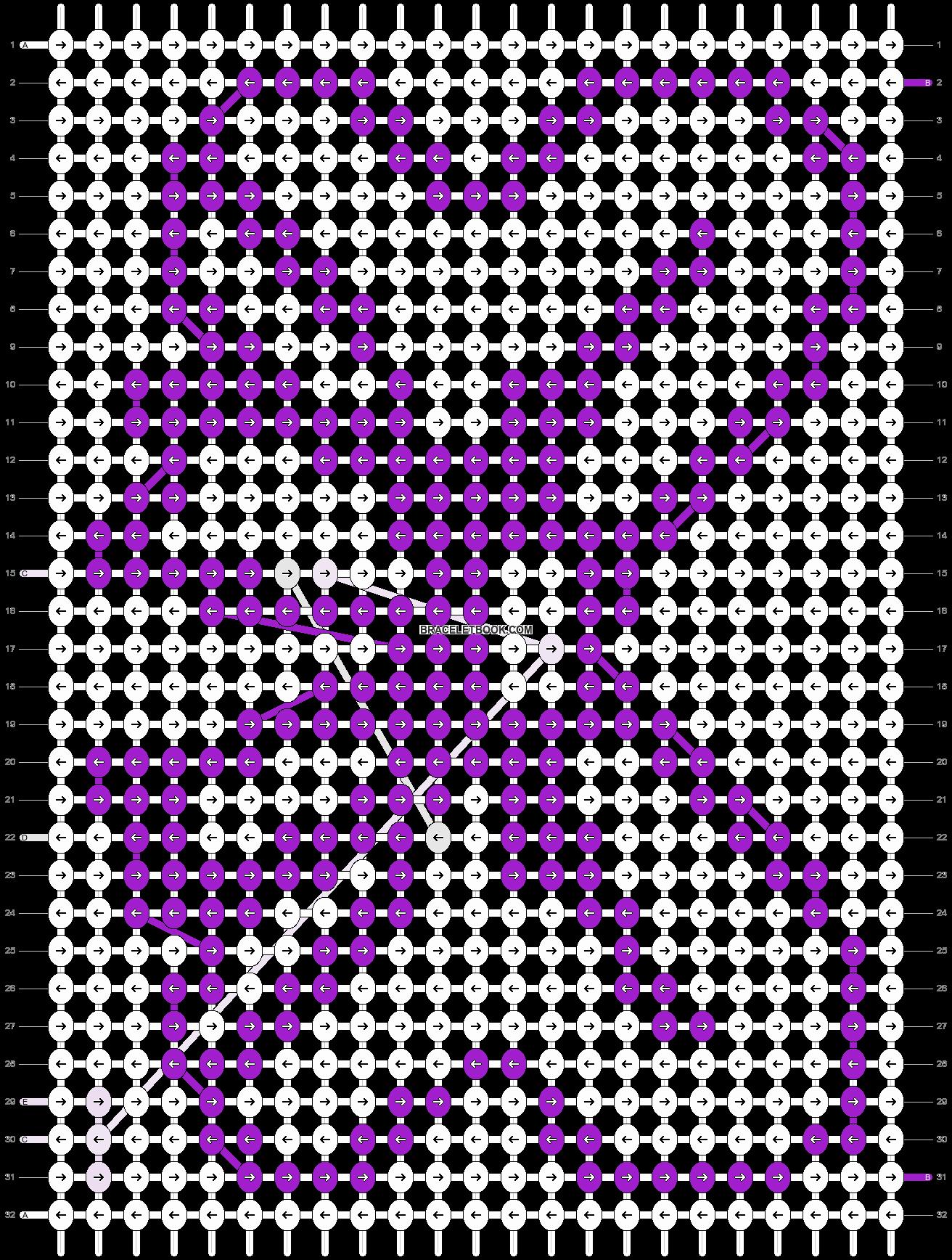 Alpha pattern #5030 pattern