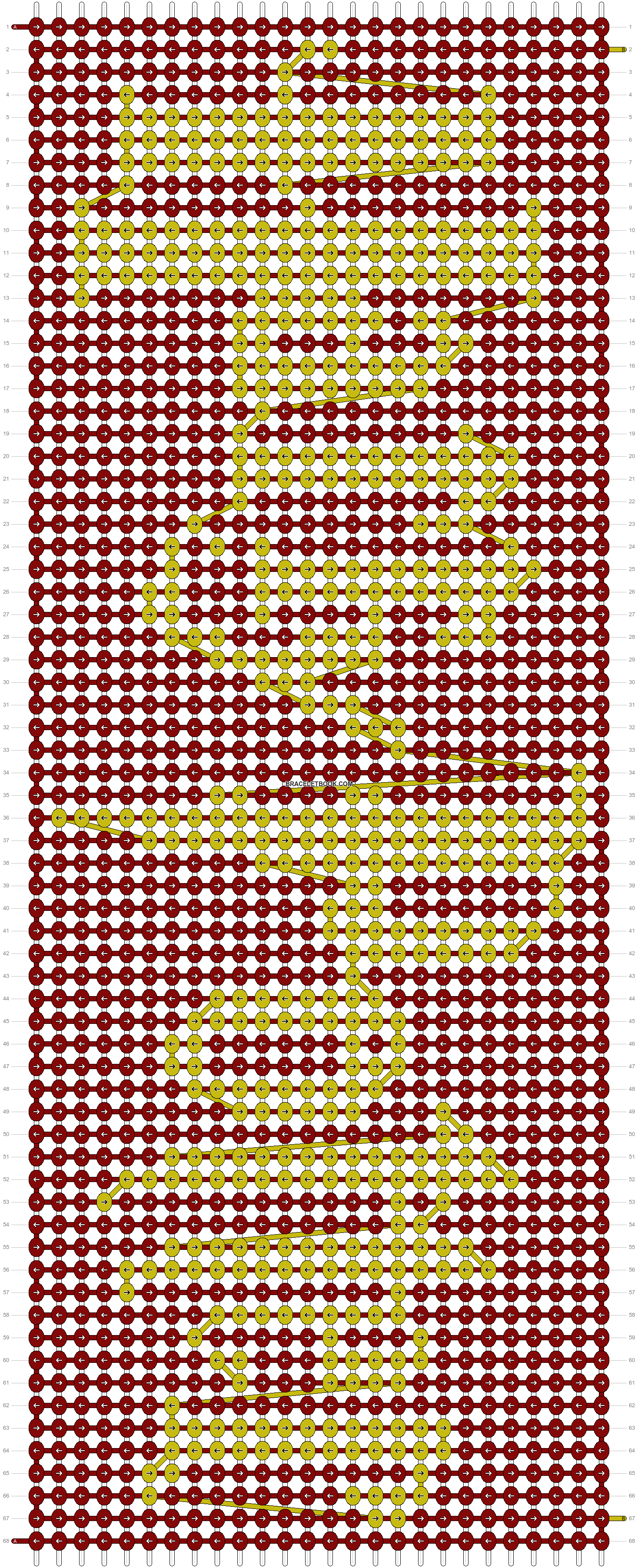 Alpha pattern #5036 pattern