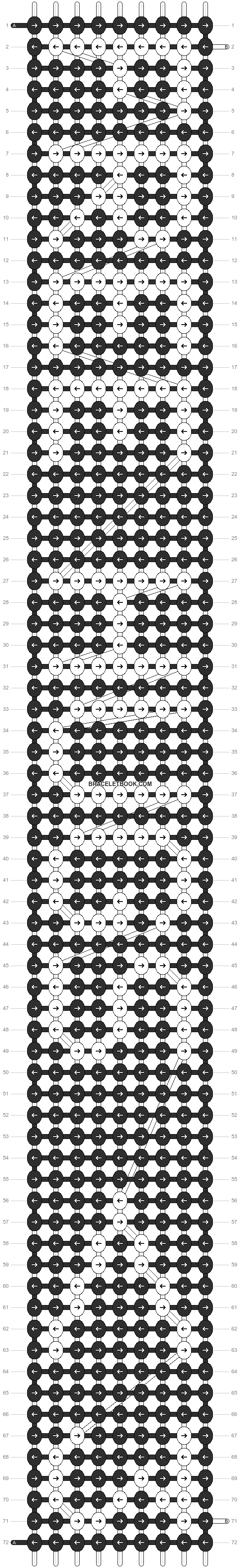 Alpha pattern #5037 pattern