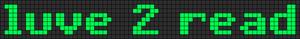 Alpha Friendship Bracelet Pattern #5038