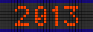 Alpha pattern #5039
