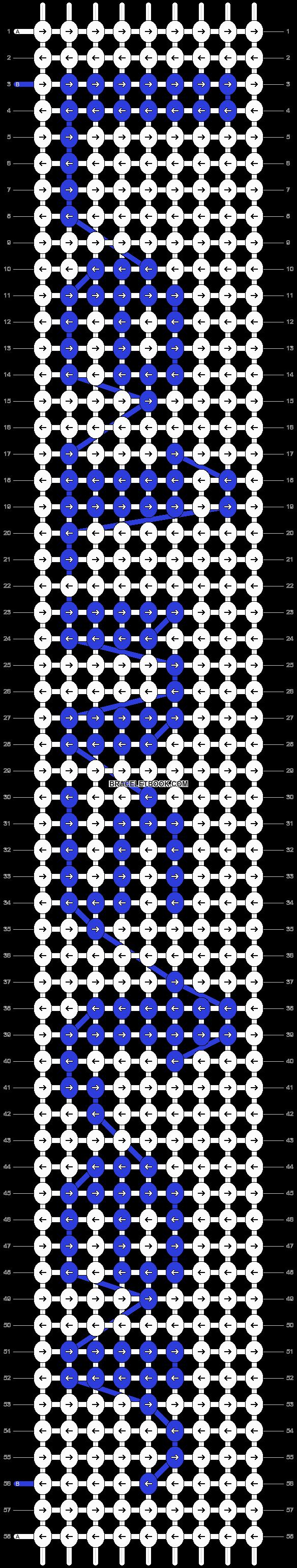 Alpha pattern #5041 pattern