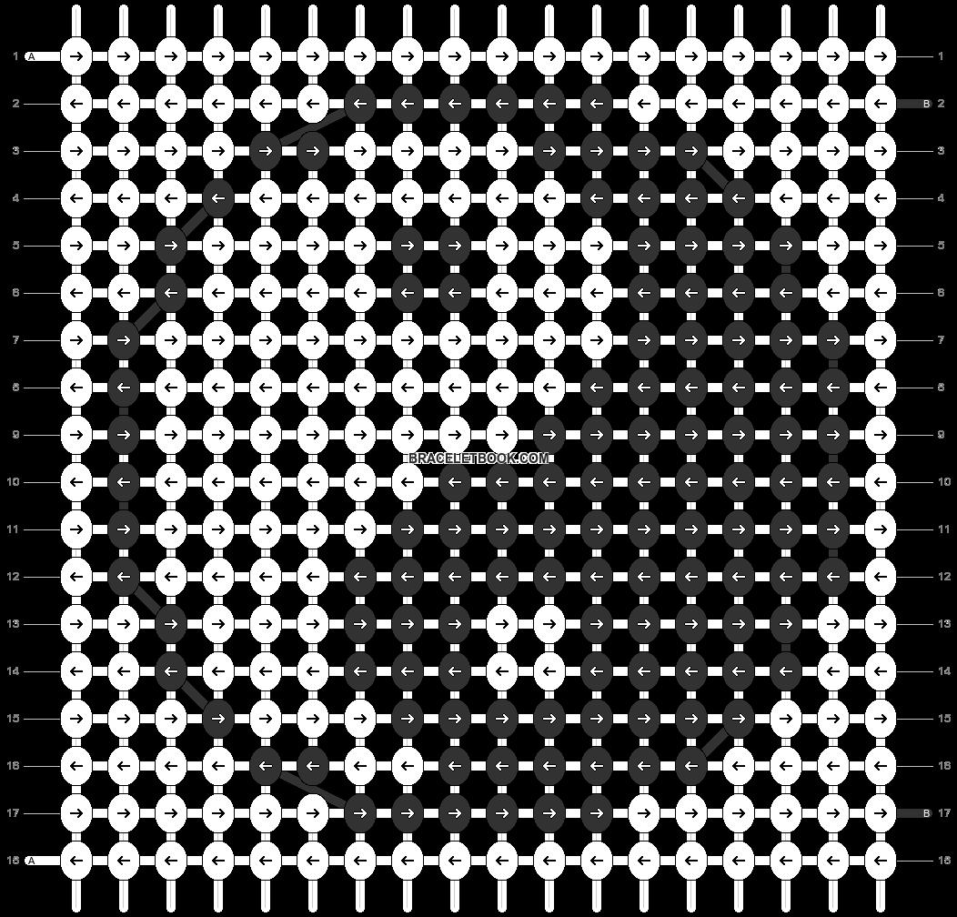 Alpha pattern #5044 pattern