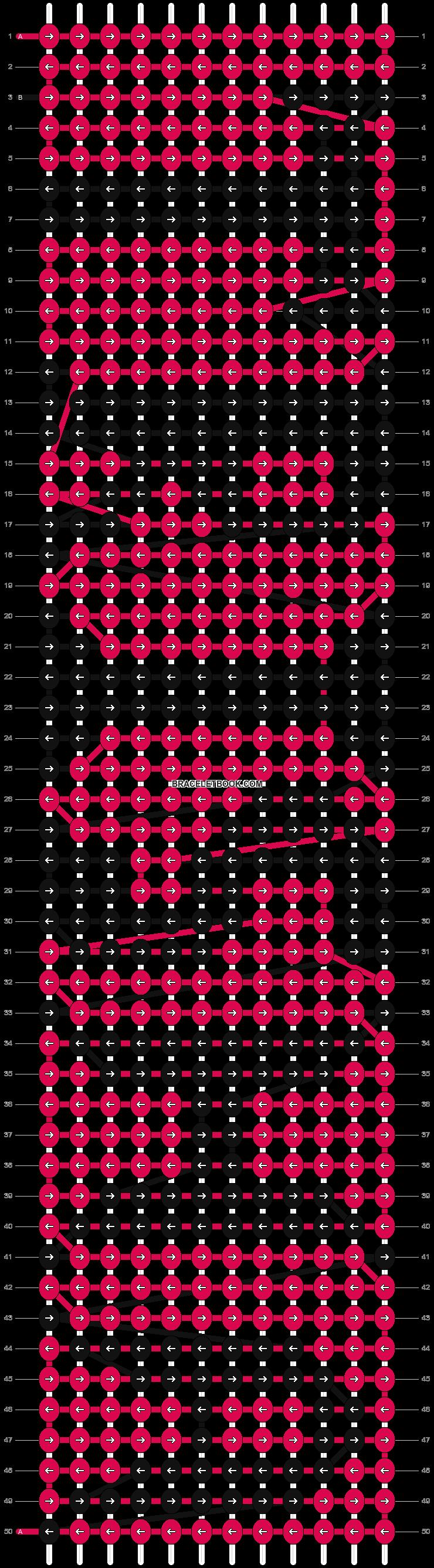 Alpha pattern #5046 pattern