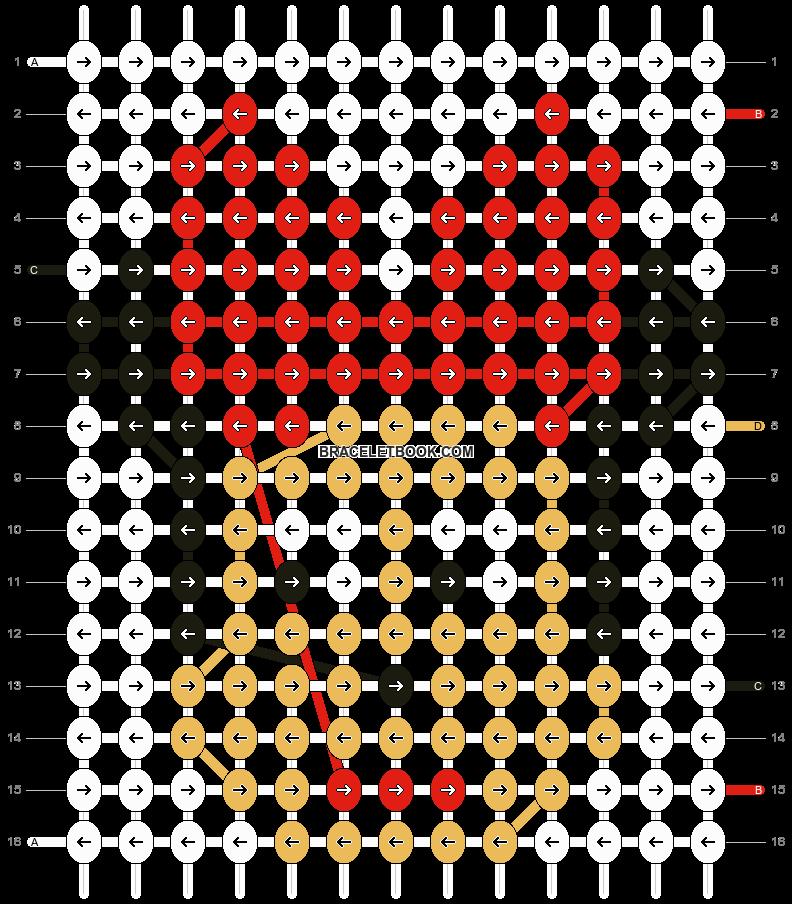 Alpha pattern #5047 pattern