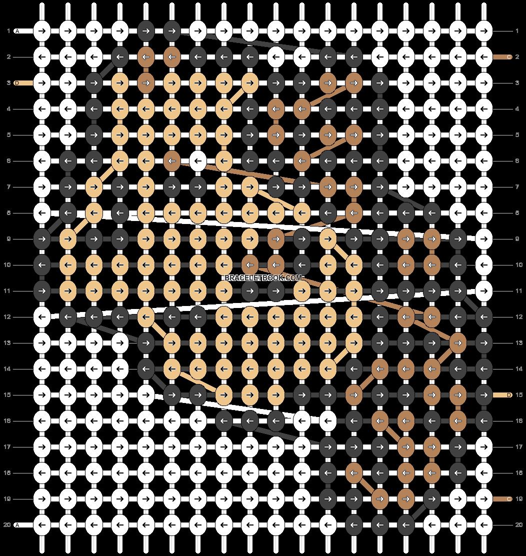 Alpha pattern #5054 pattern