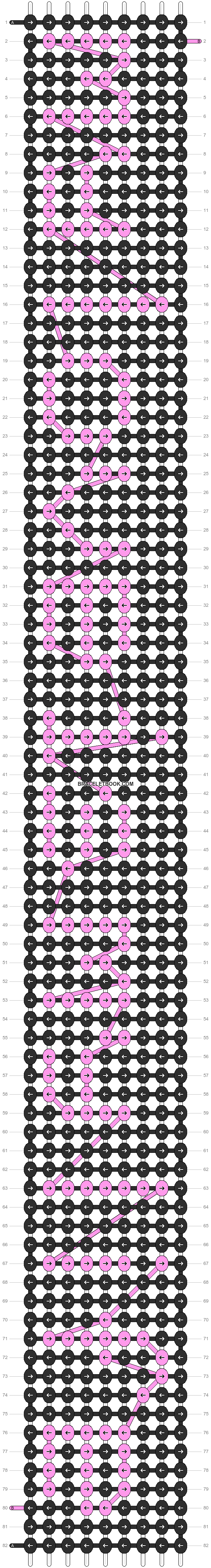 Alpha pattern #5055 pattern