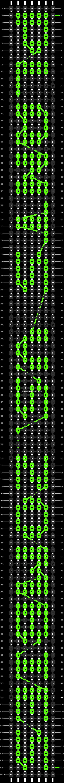 Alpha pattern #5064 pattern