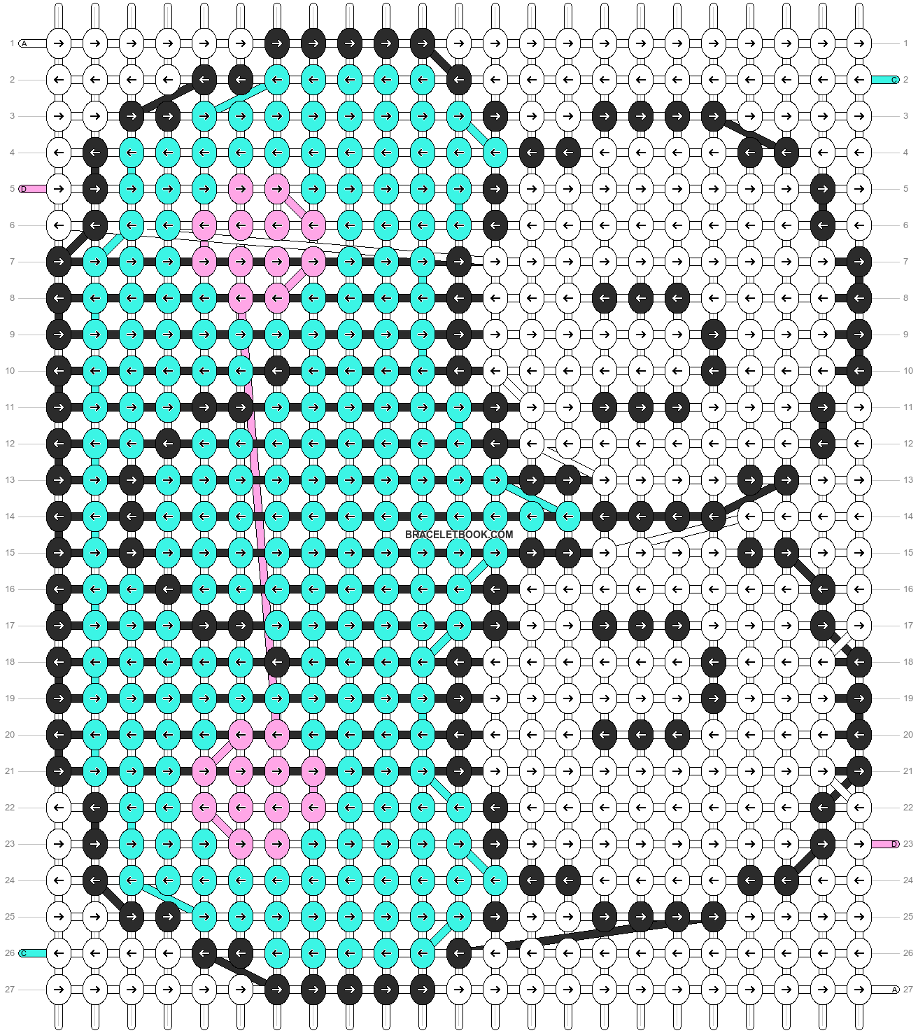 Alpha pattern #5069 pattern