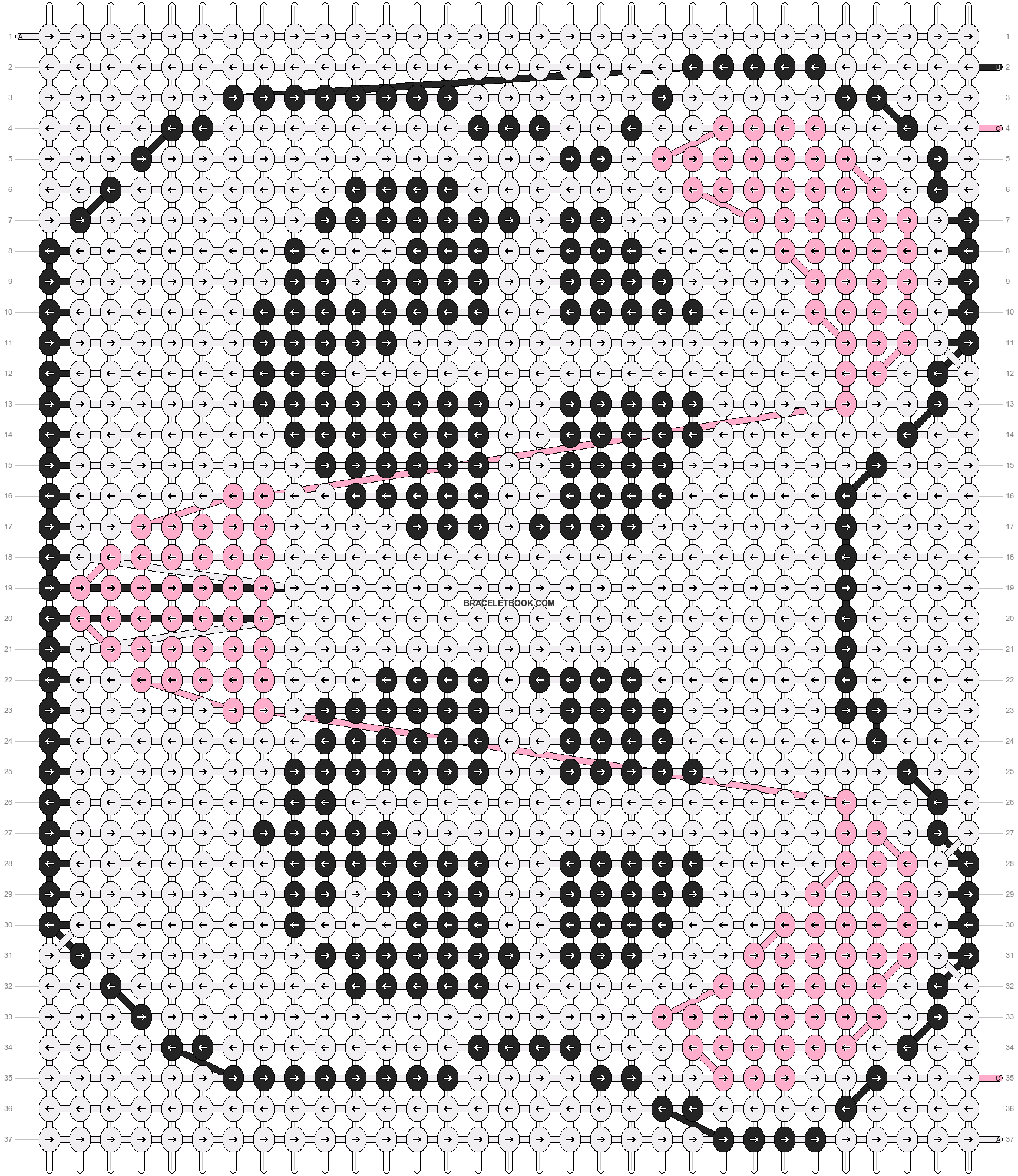 Alpha pattern #5072 pattern