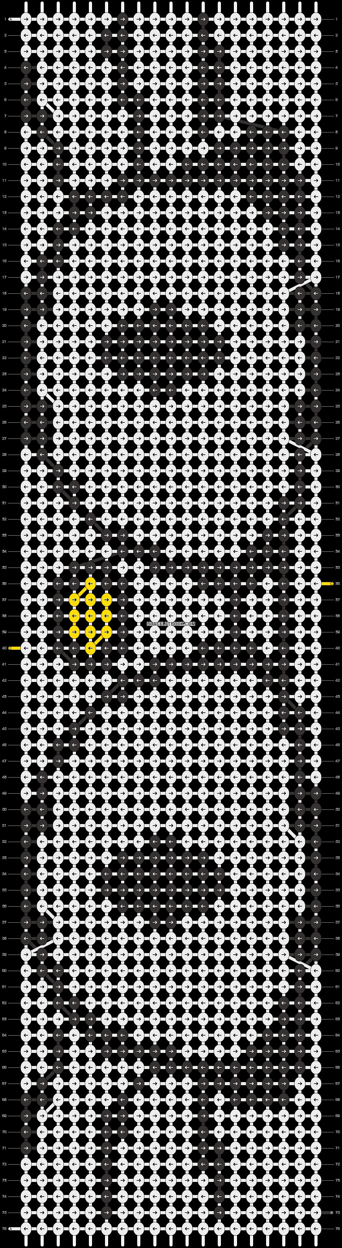 Alpha pattern #5074 pattern