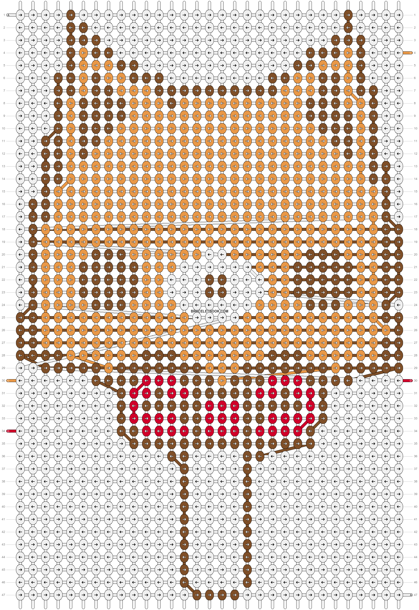 Alpha pattern #5077 pattern