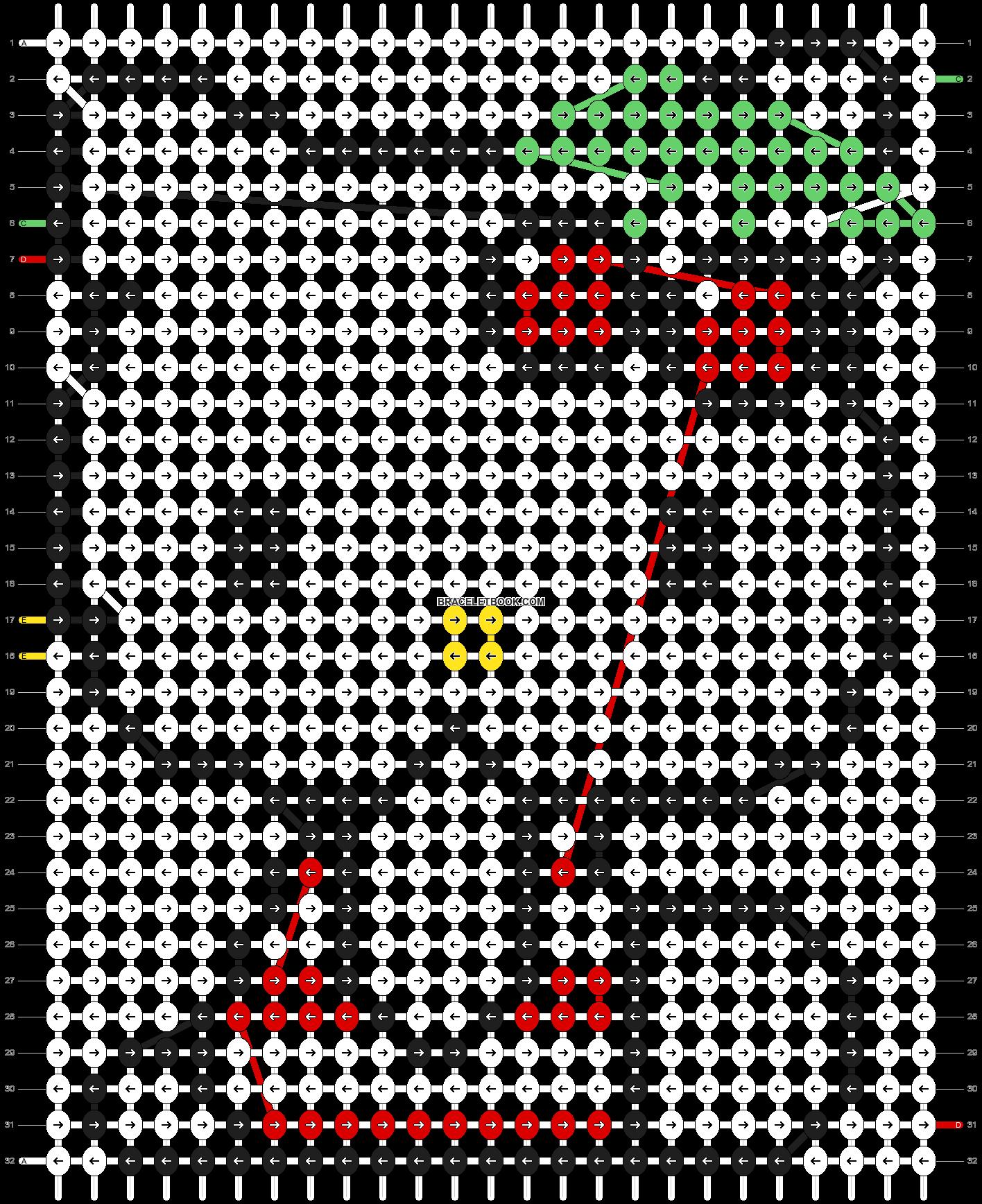 Alpha pattern #5078 pattern