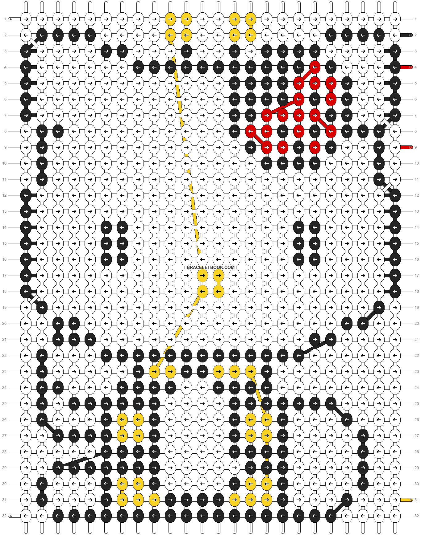 Alpha pattern #5079 pattern