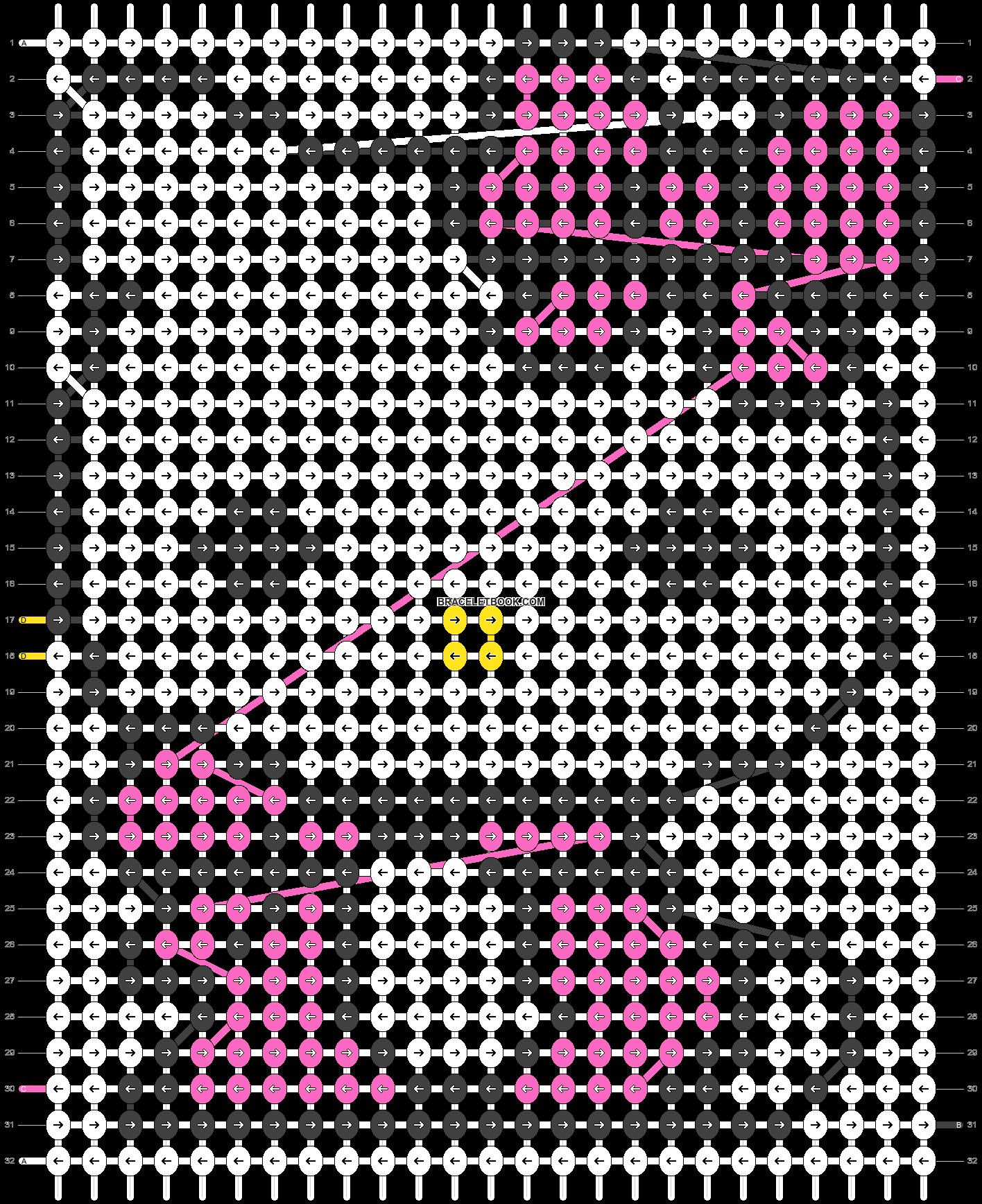 Alpha pattern #5080 pattern