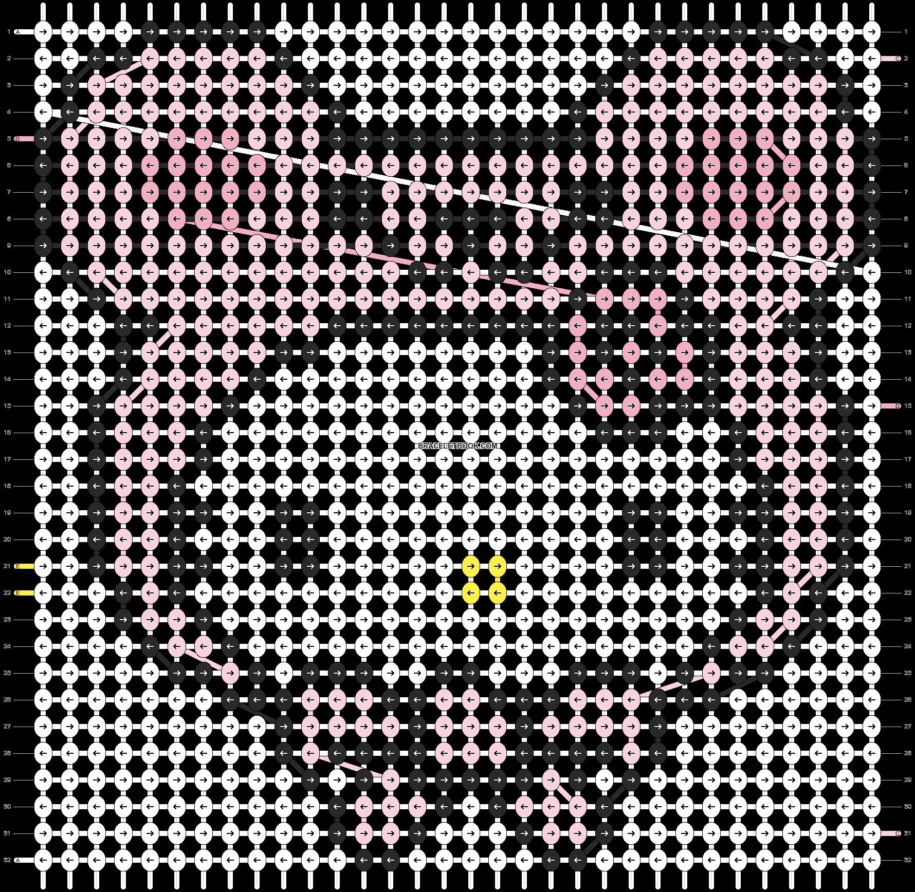 Alpha pattern #5082 pattern