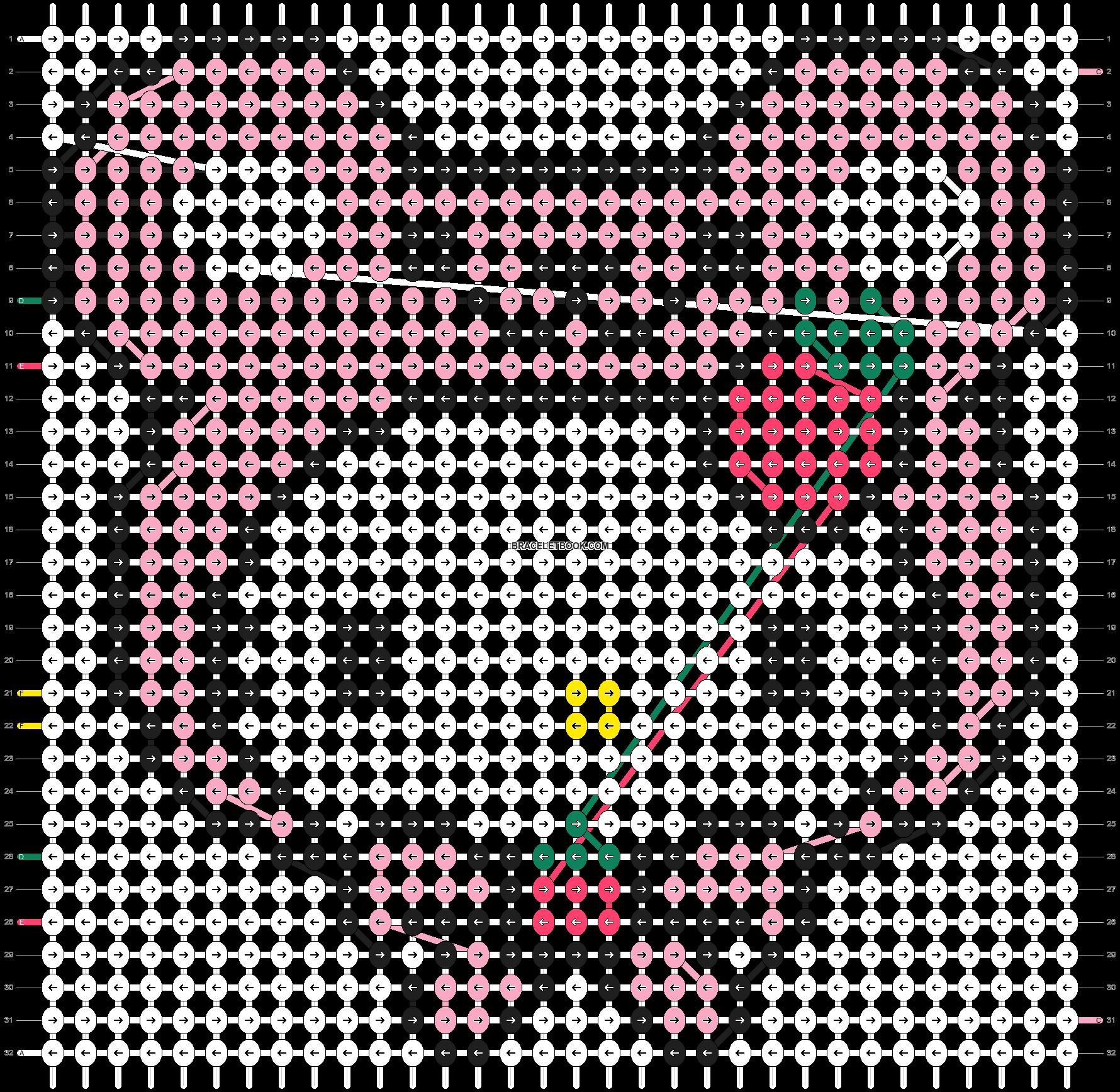 Alpha pattern #5085 pattern