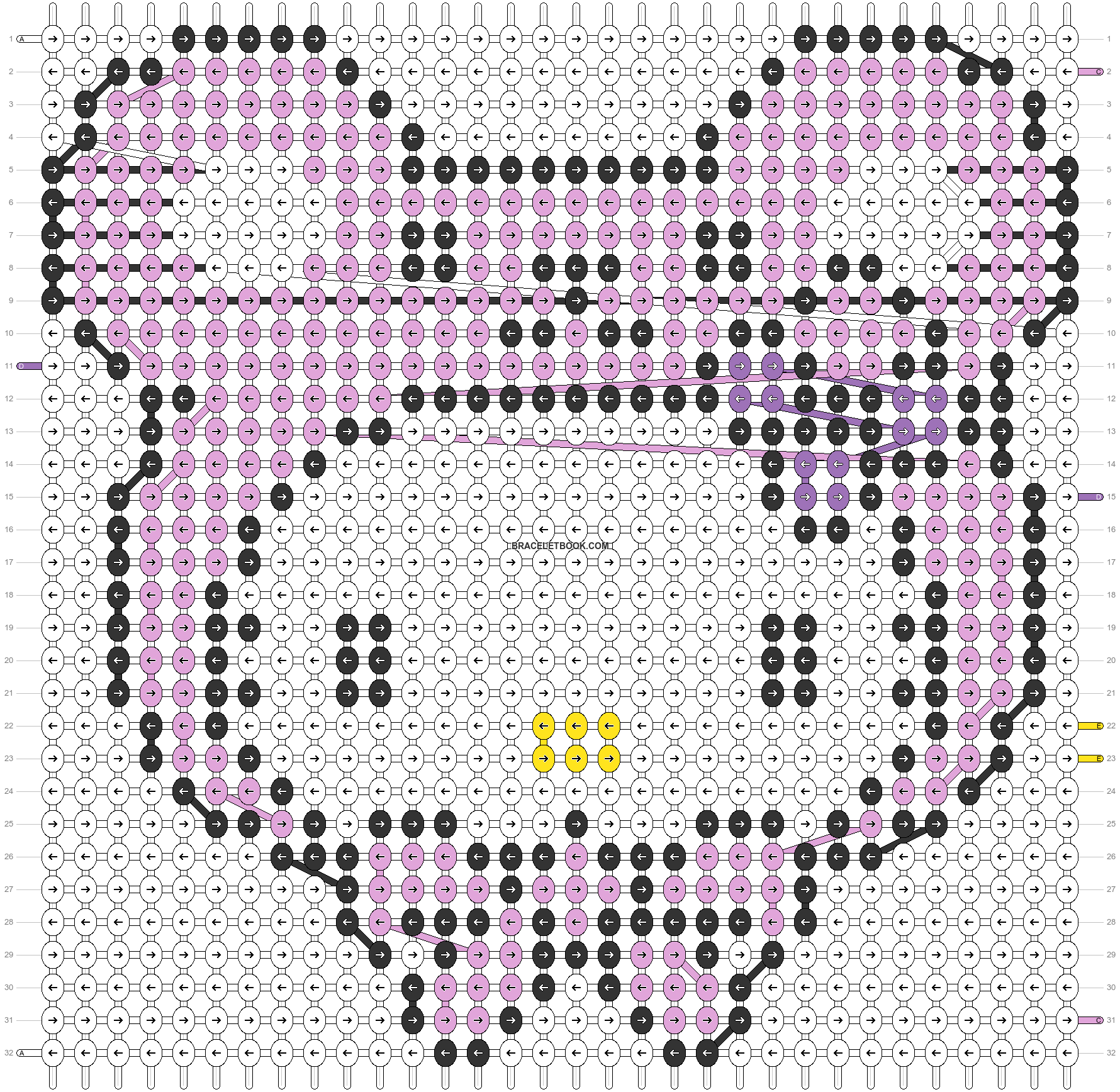 Alpha pattern #5088 pattern