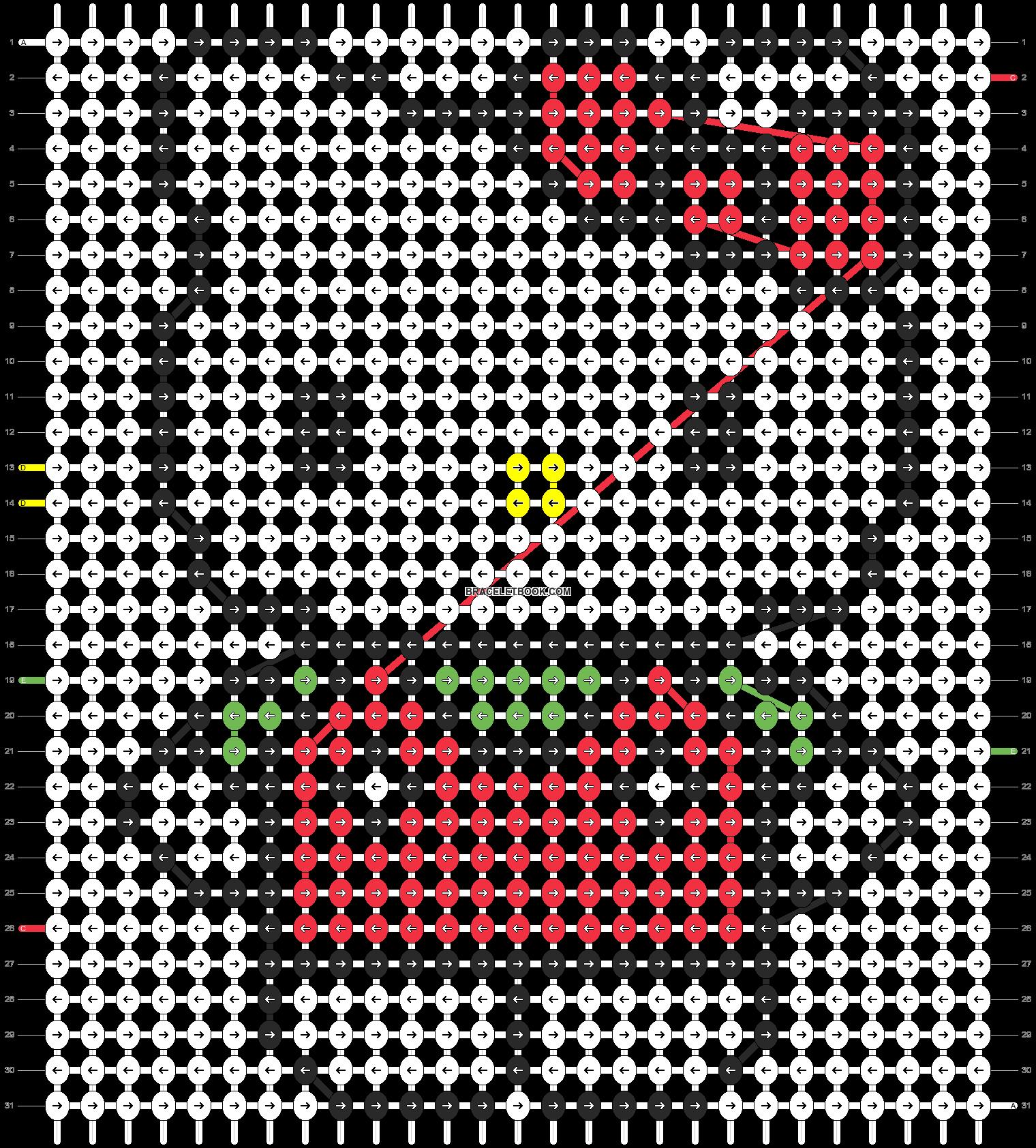 Alpha pattern #5096 pattern