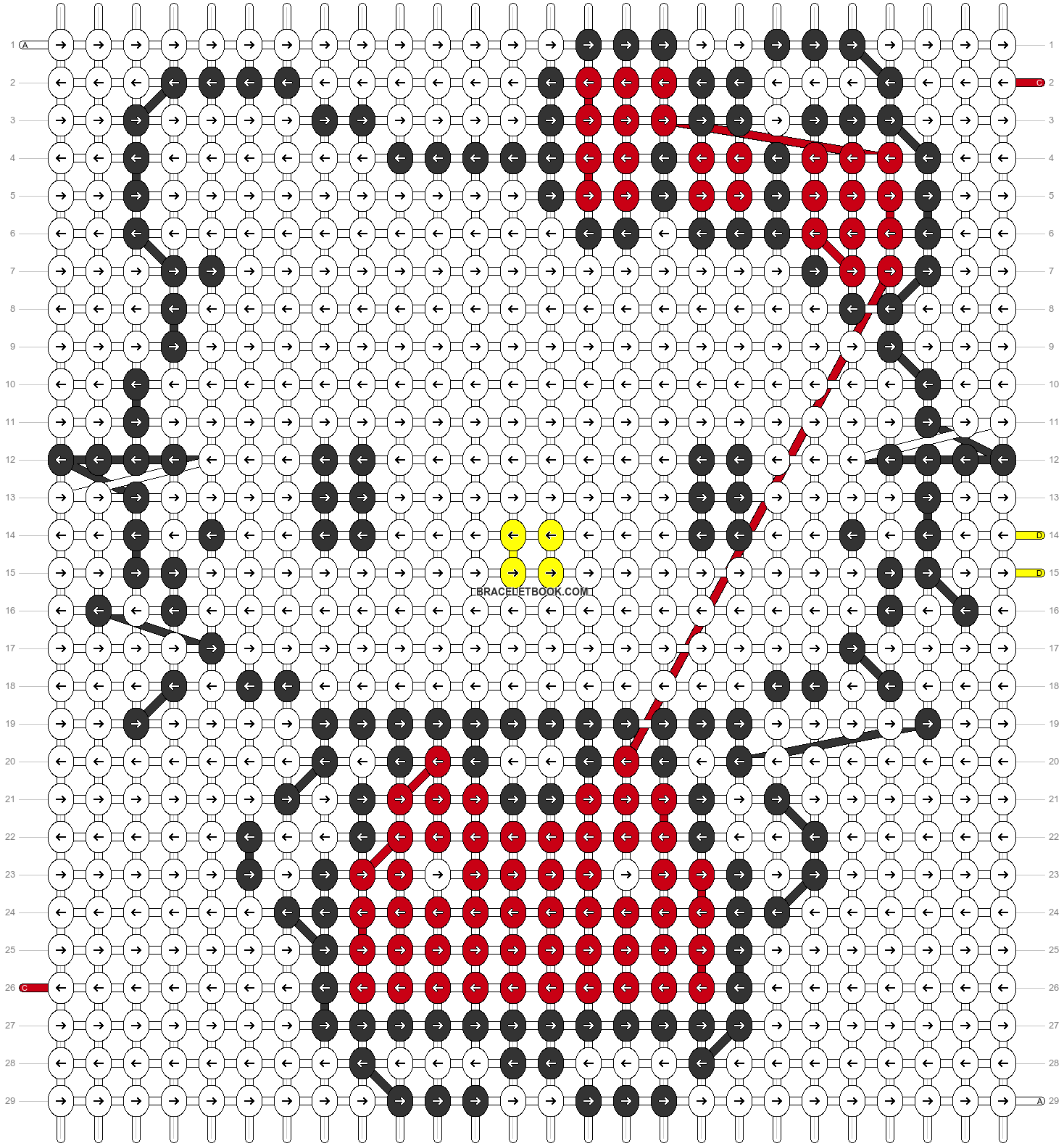 Alpha pattern #5097 pattern
