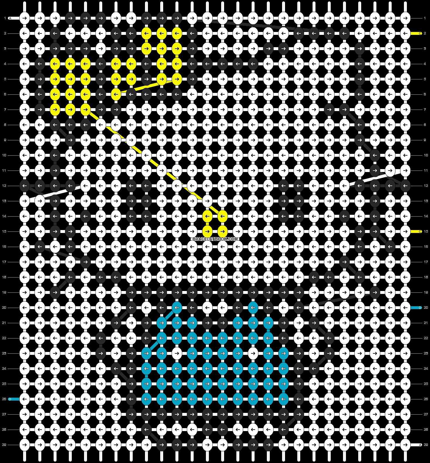 Alpha pattern #5098 pattern