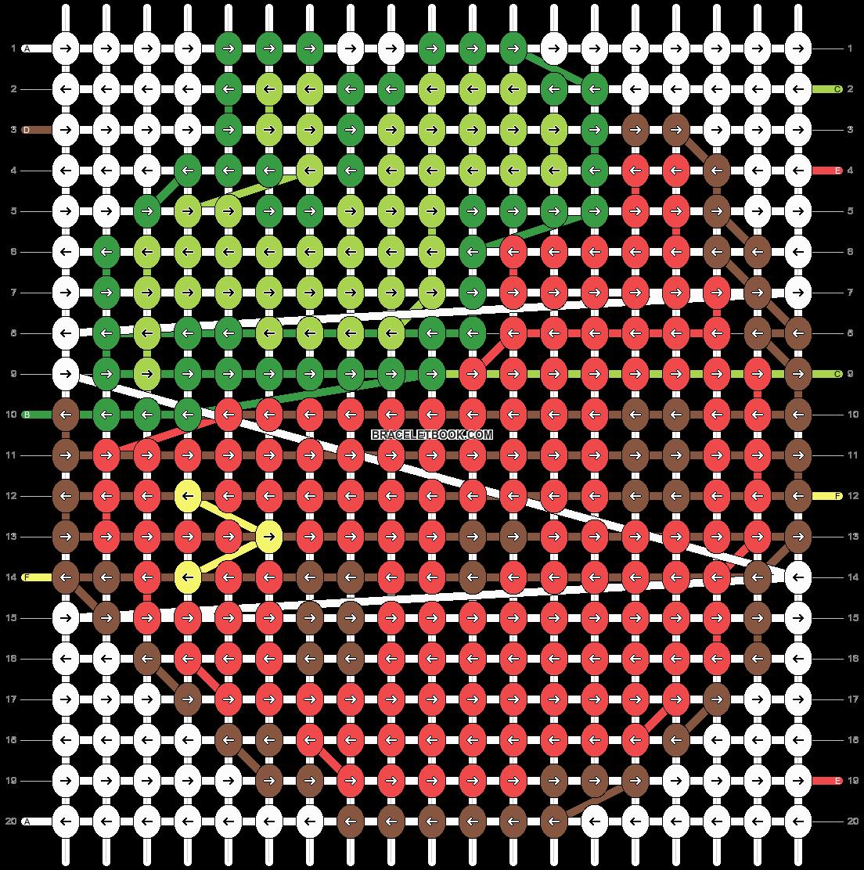 Alpha pattern #5102 pattern