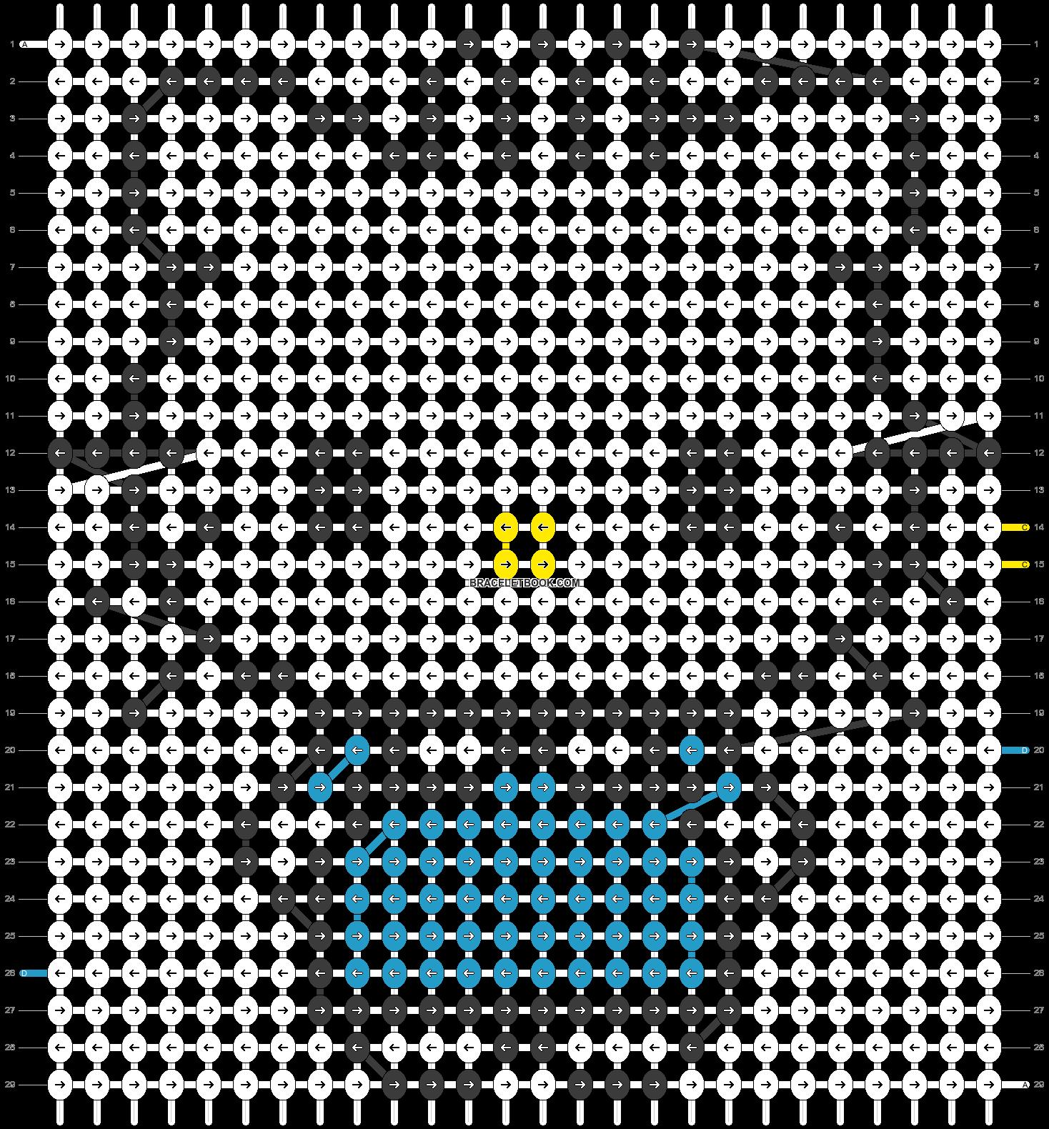 Alpha pattern #5105 pattern