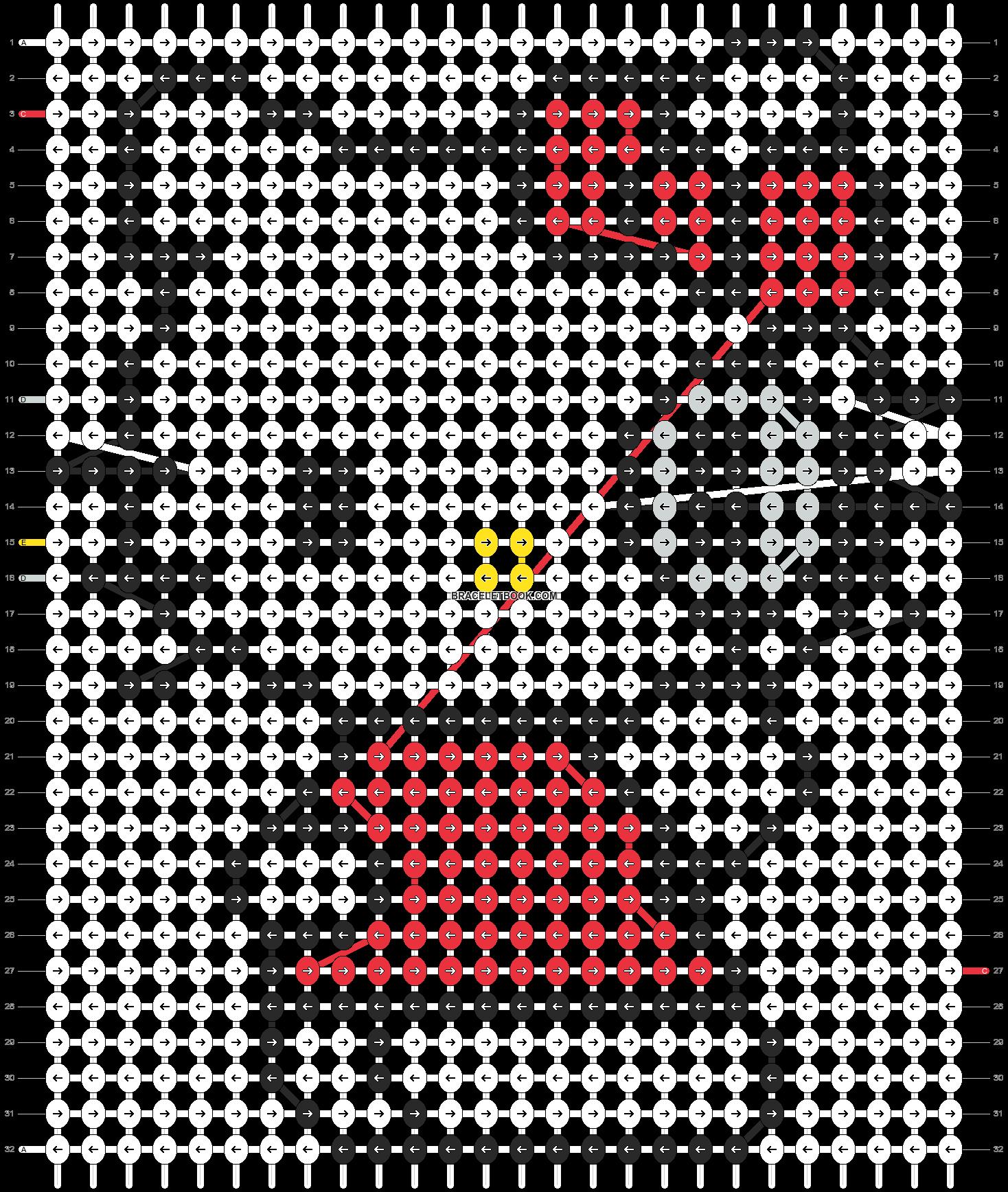 Alpha pattern #5106 pattern