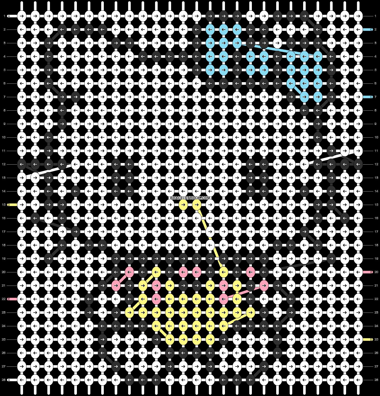 Alpha pattern #5113 pattern