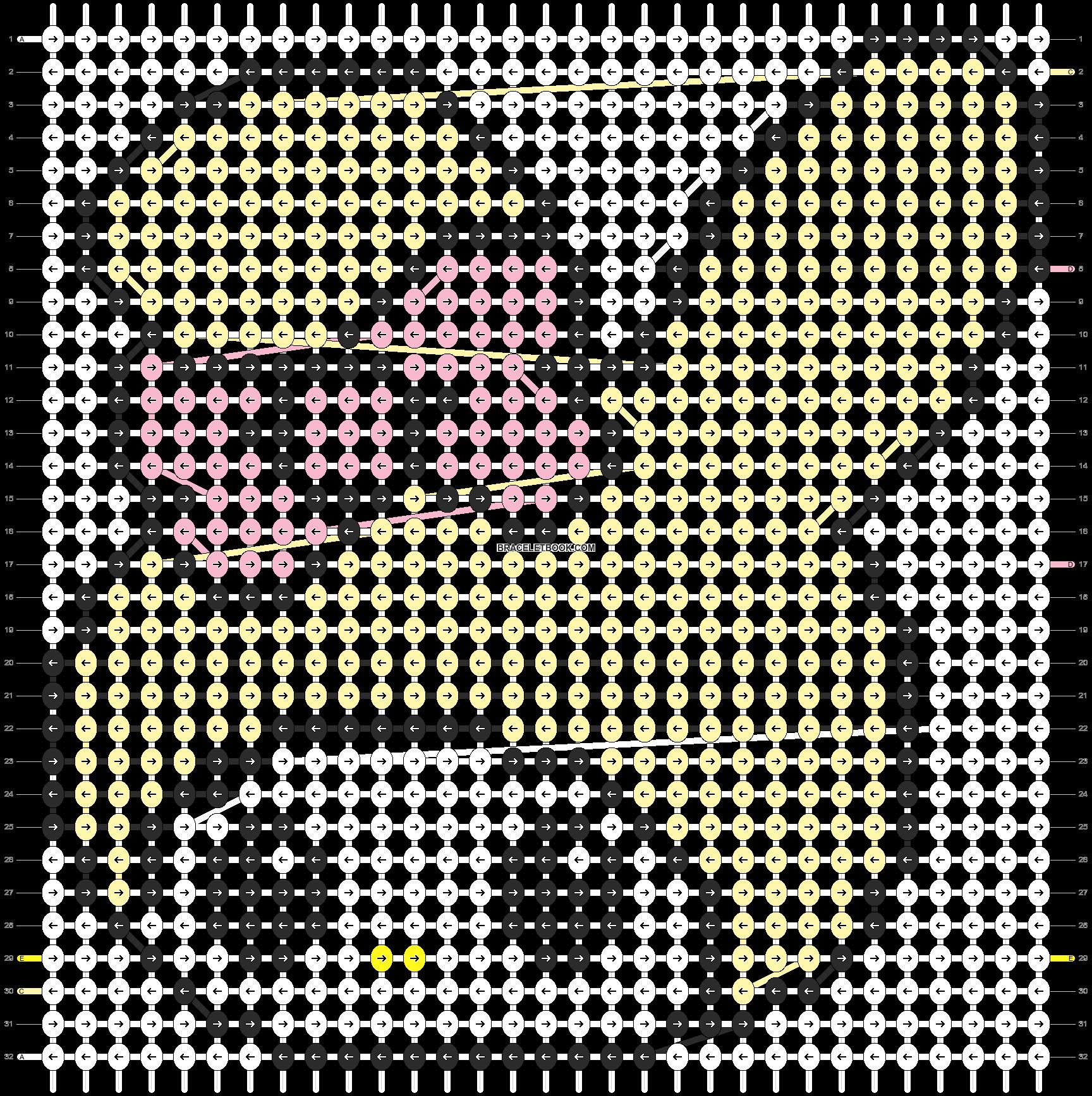 Alpha pattern #5123 pattern