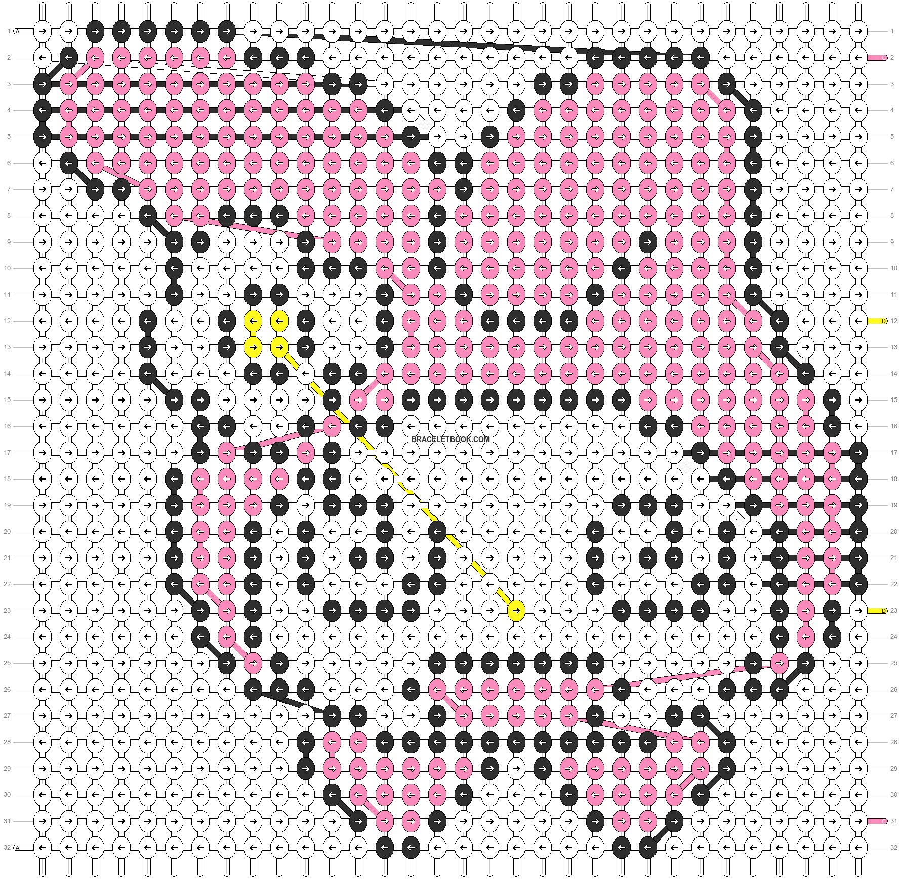 Alpha pattern #5128 pattern