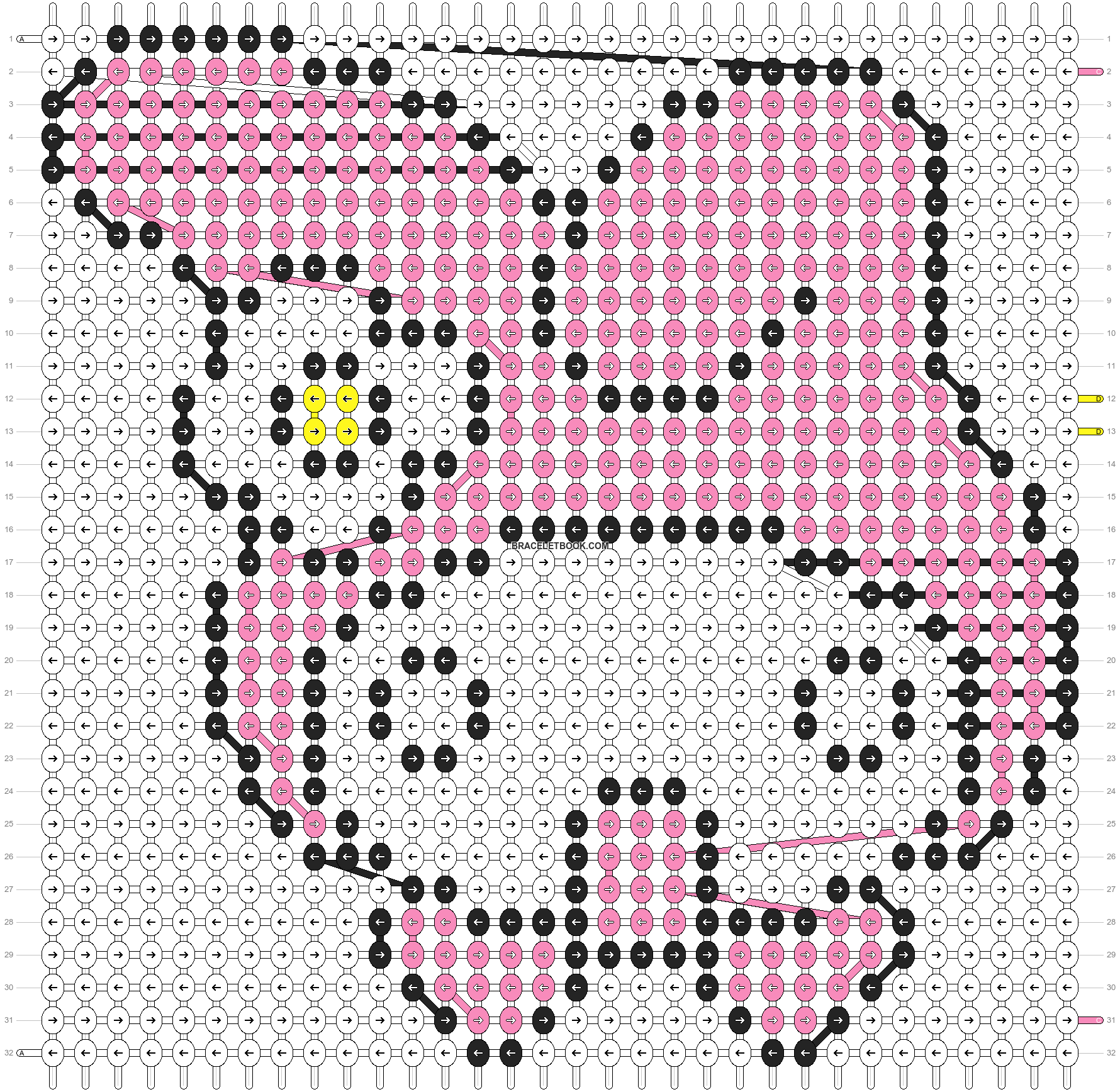 Alpha pattern #5130 pattern