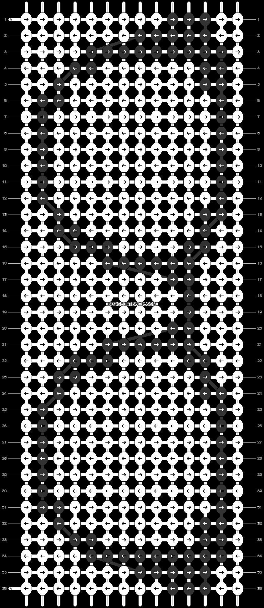 Alpha pattern #5132 pattern