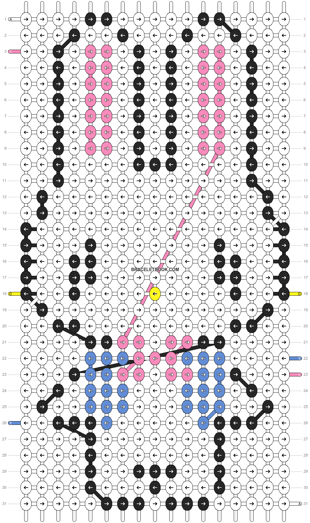 Alpha pattern #5145 pattern