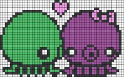 Alpha Friendship Bracelet Pattern #5151