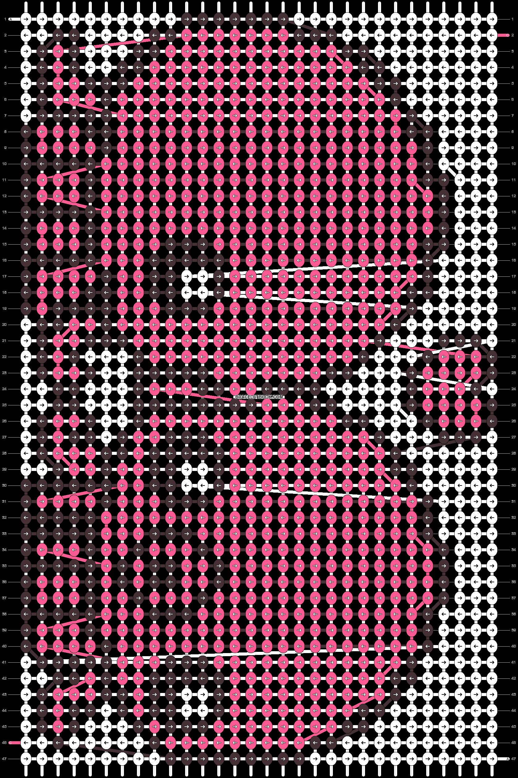 Alpha pattern #5152 pattern
