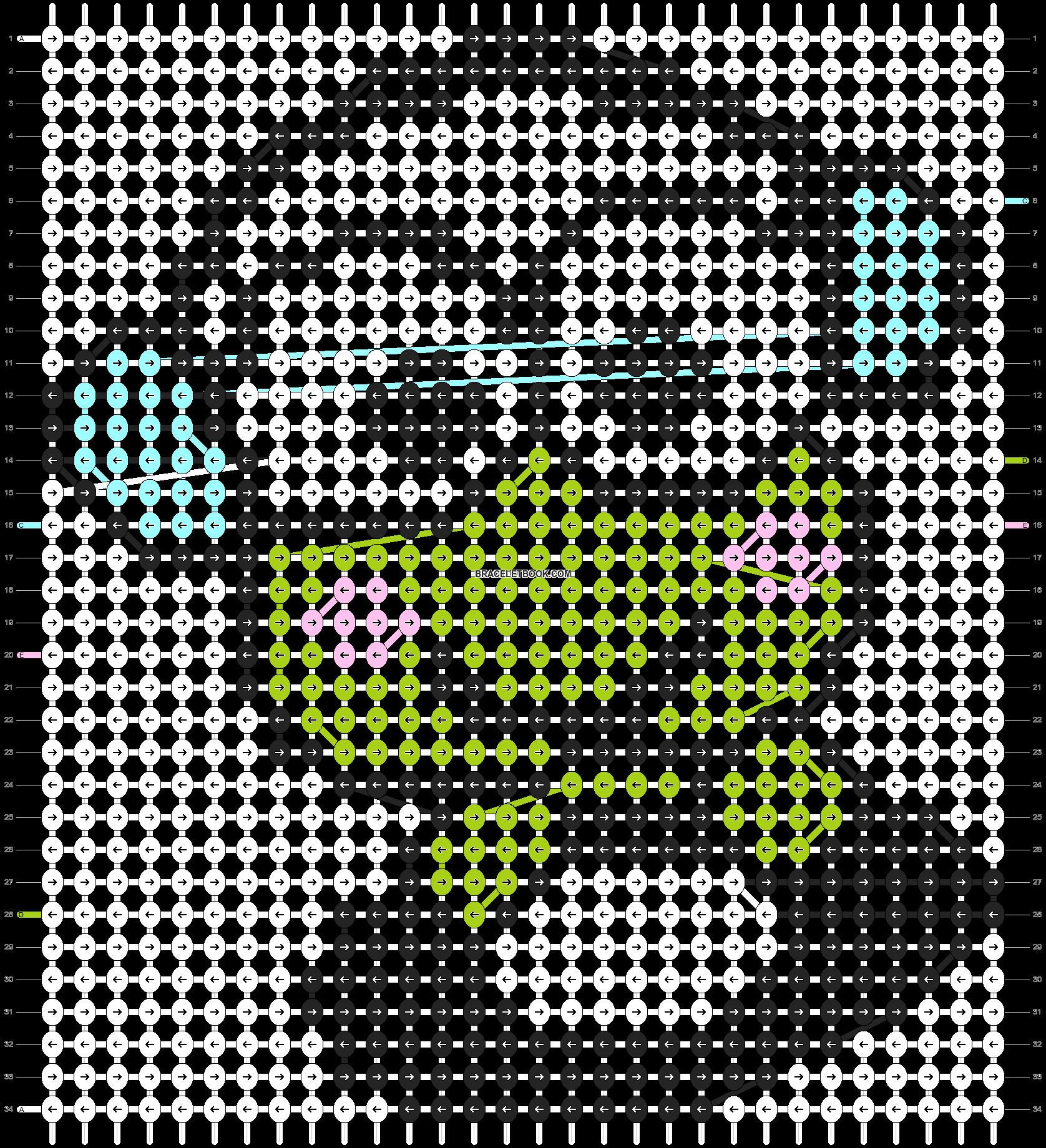Alpha pattern #5161 pattern
