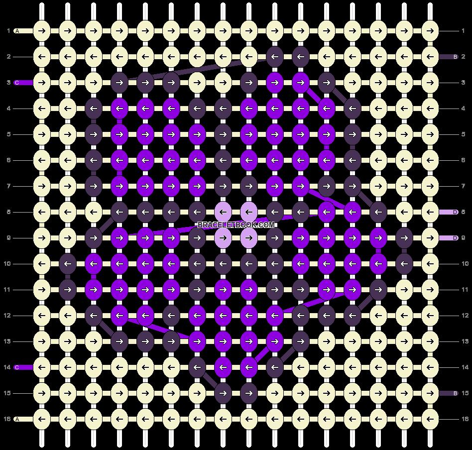 Alpha pattern #5166 pattern
