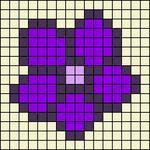Alpha pattern #5166