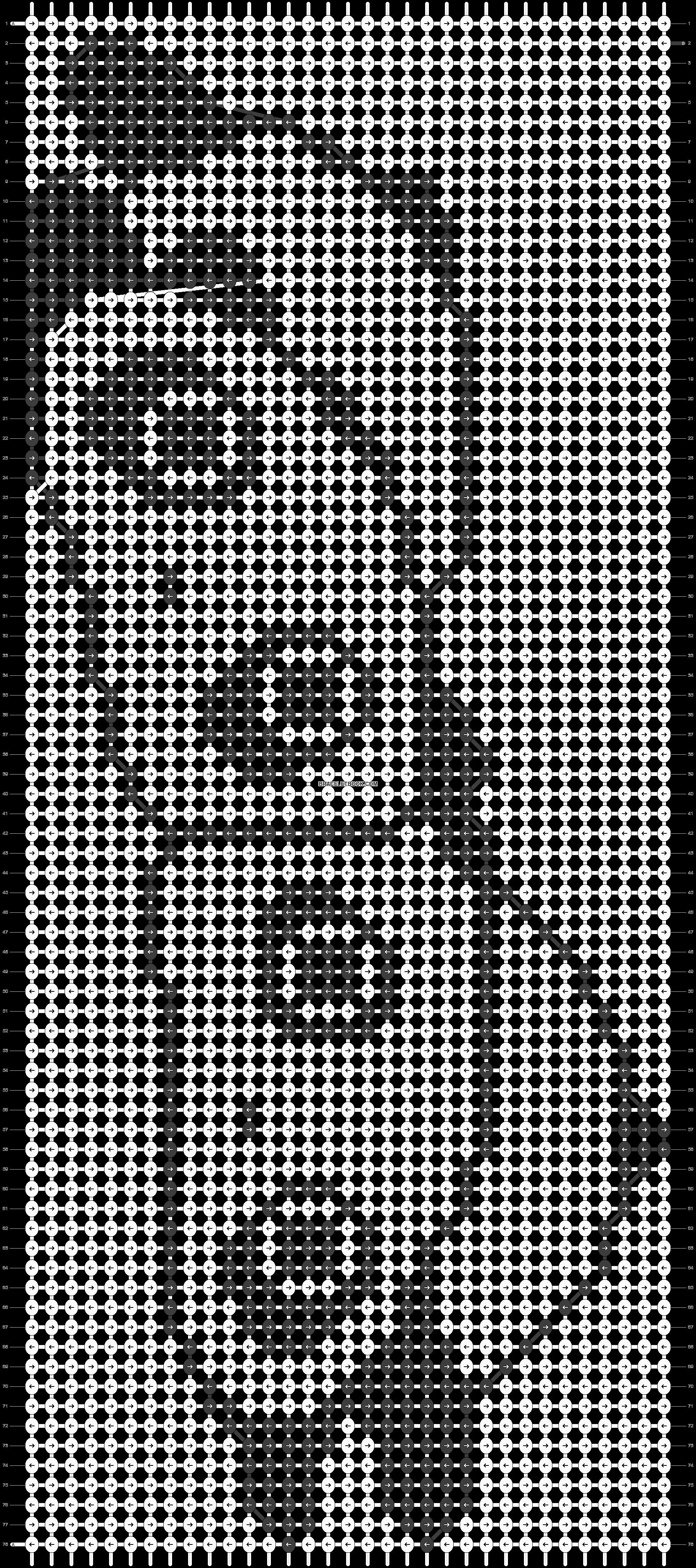 Alpha pattern #5174 pattern