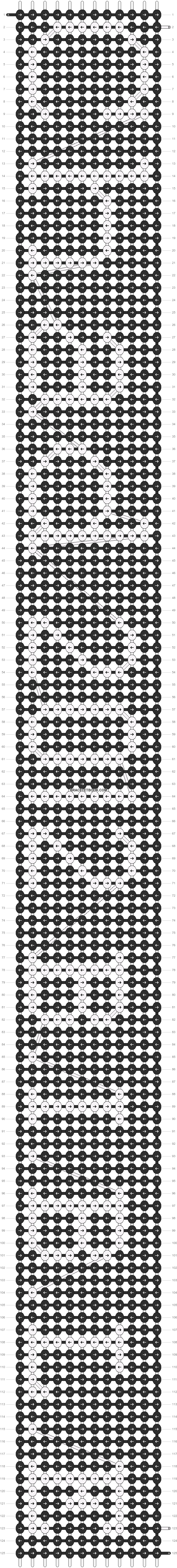 Alpha pattern #5185 pattern