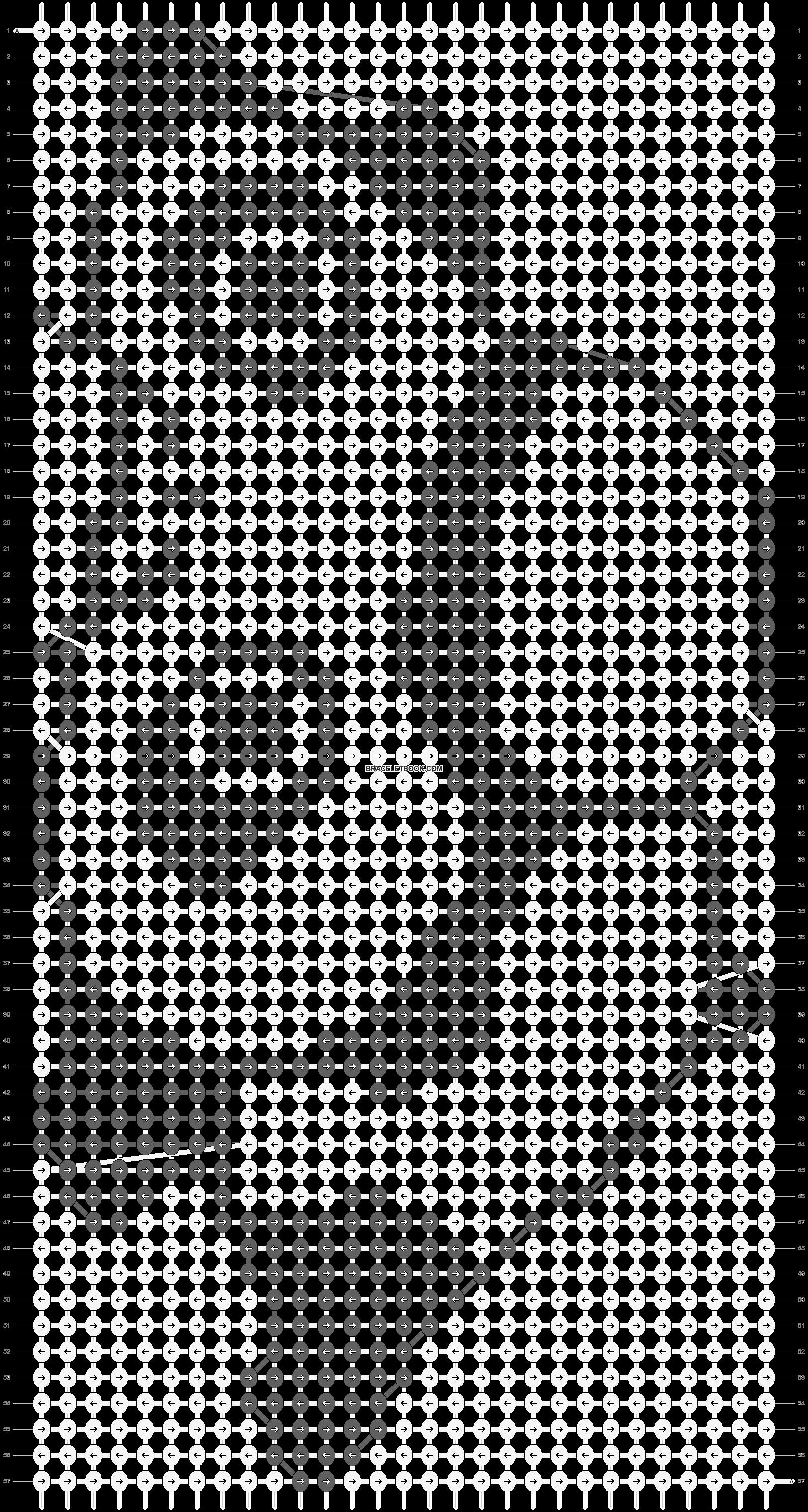 Alpha pattern #5189 pattern