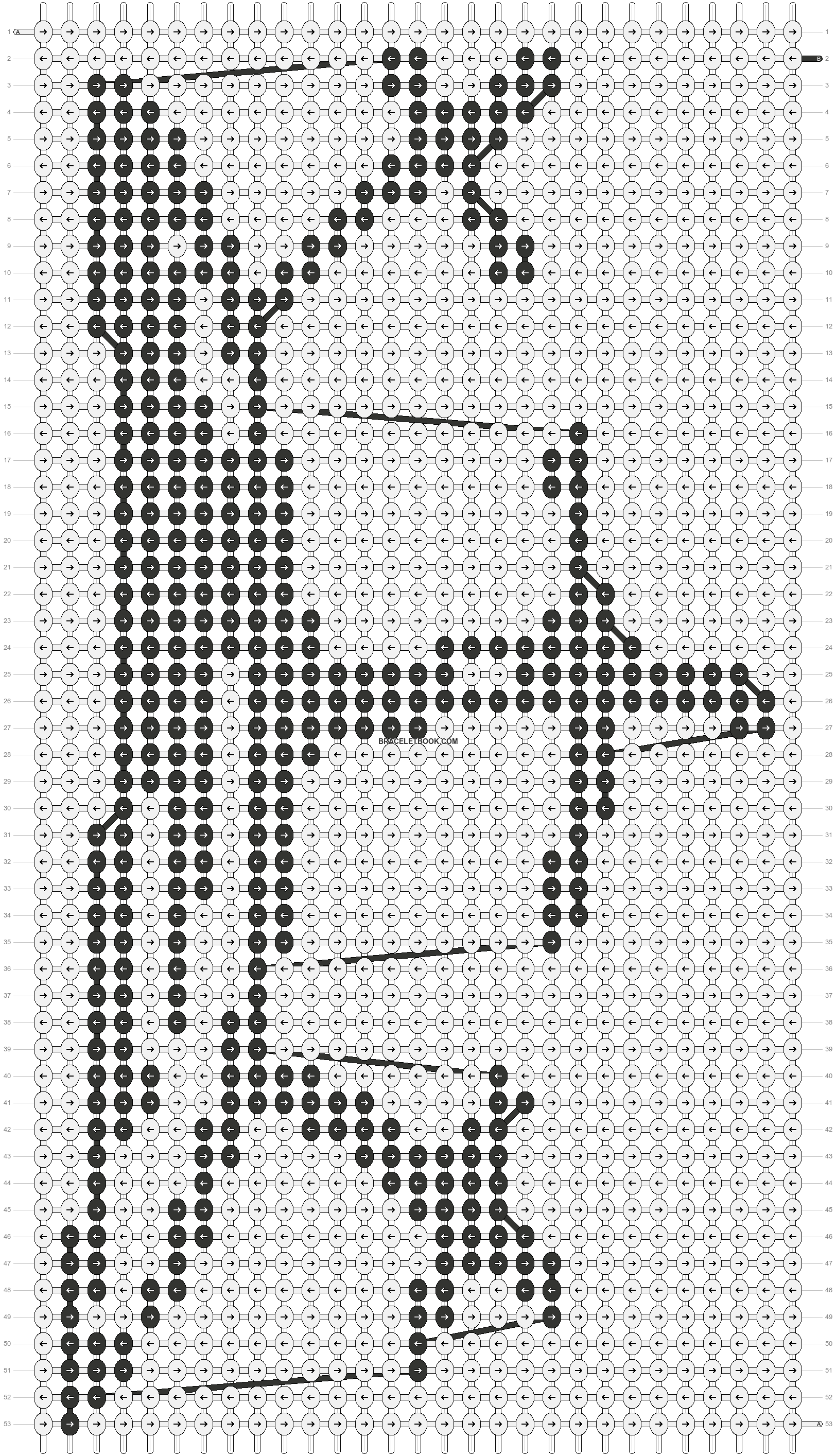 Alpha pattern #5197 pattern