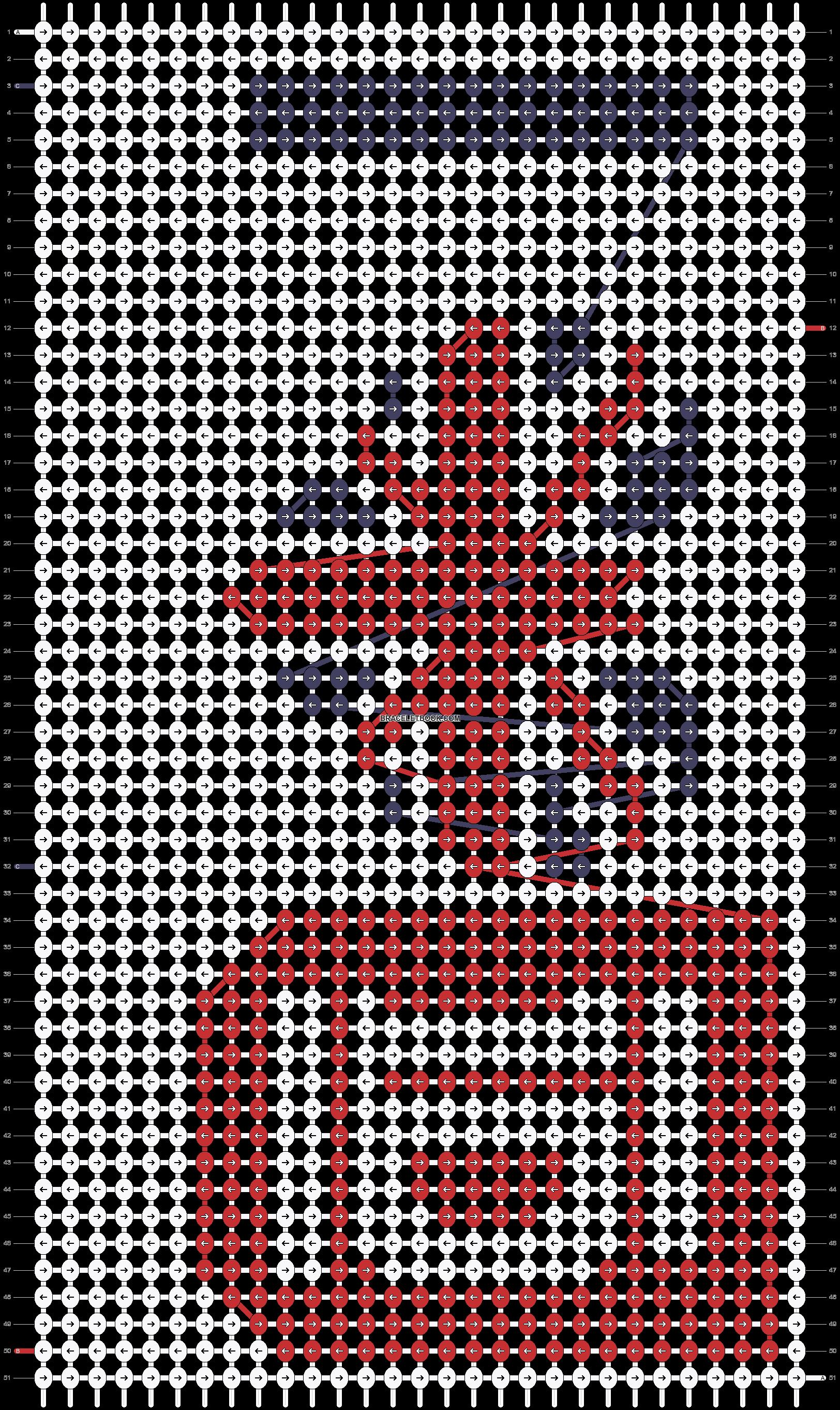 Alpha pattern #5199 pattern