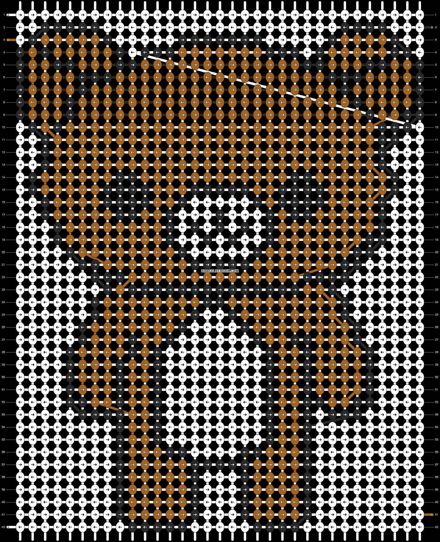 Alpha pattern #5206 pattern