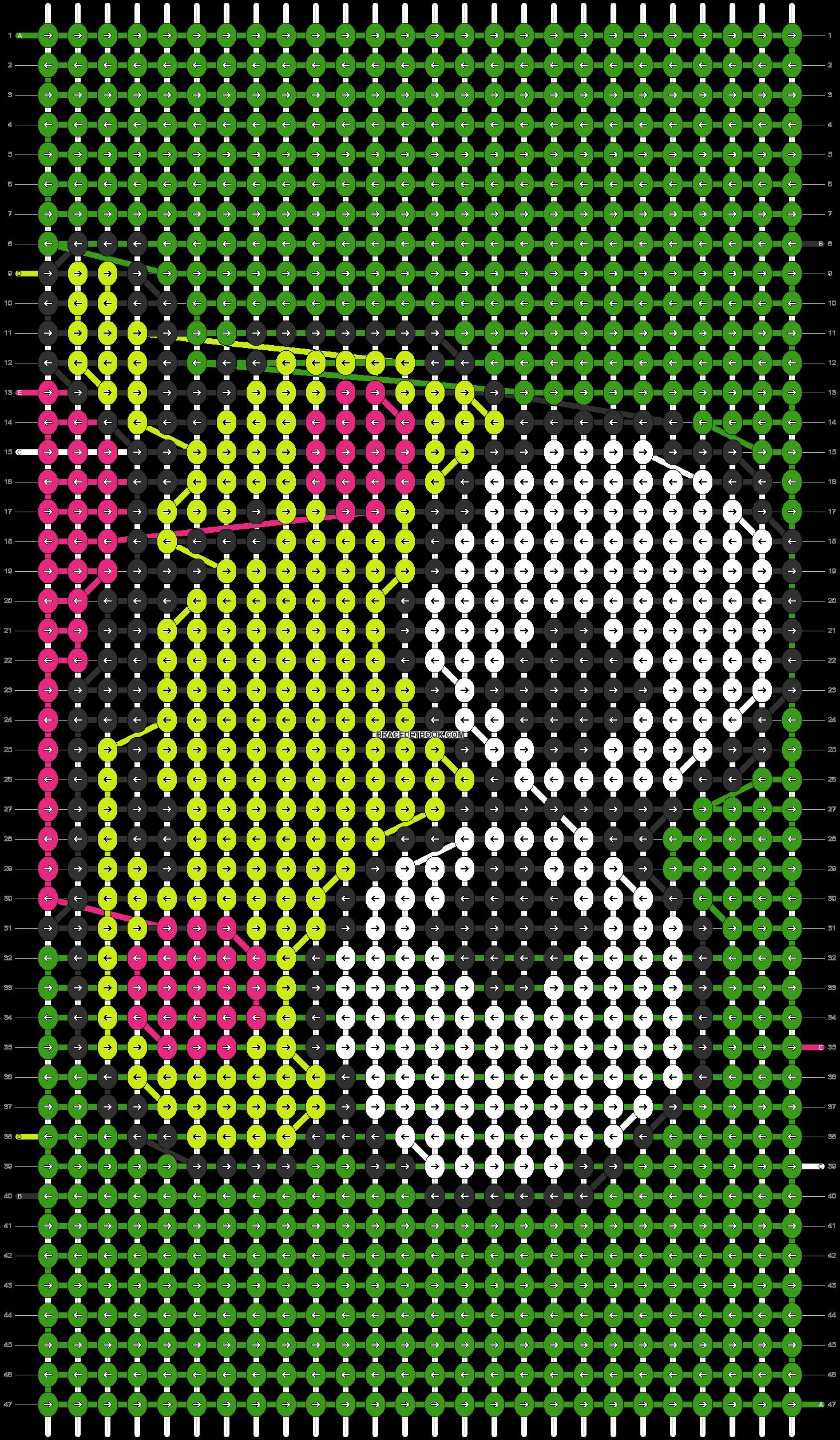 Alpha pattern #5217 pattern